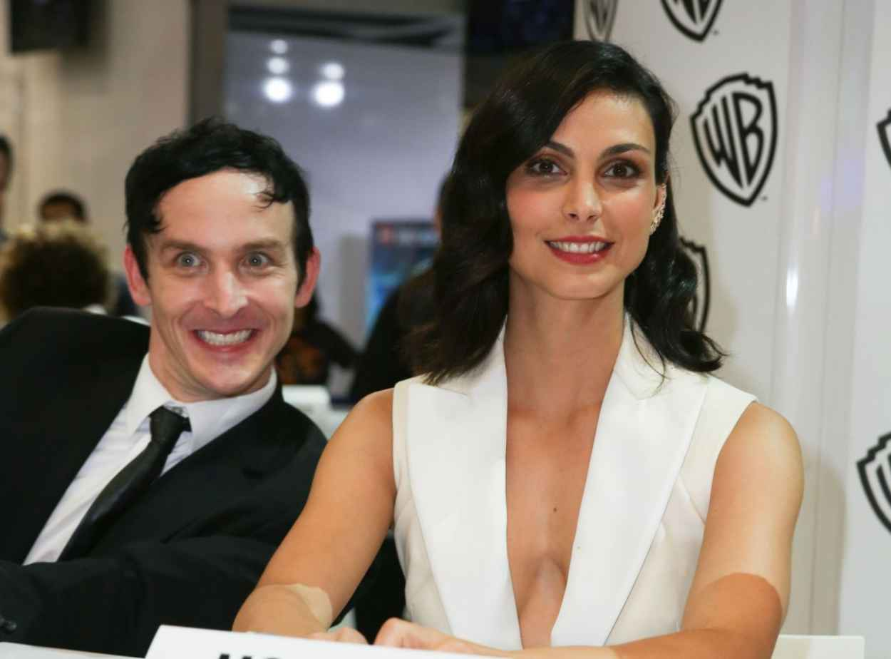 Morena Baccarin - WB Booth at Comic Con in San Diego, July 2015-3