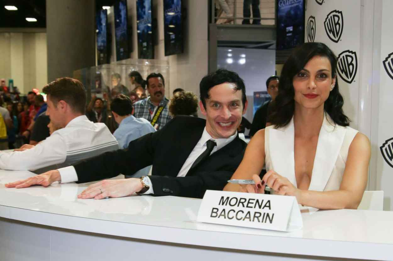 Morena Baccarin - WB Booth at Comic Con in San Diego, July 2015-4