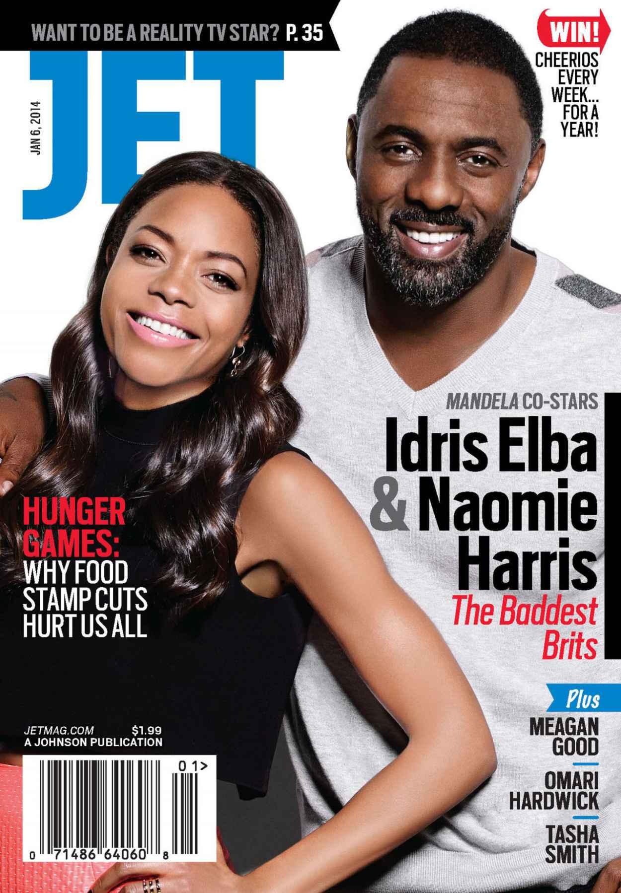 Naomie Harris - JET Magazine - January 6, 2015 Issue-1