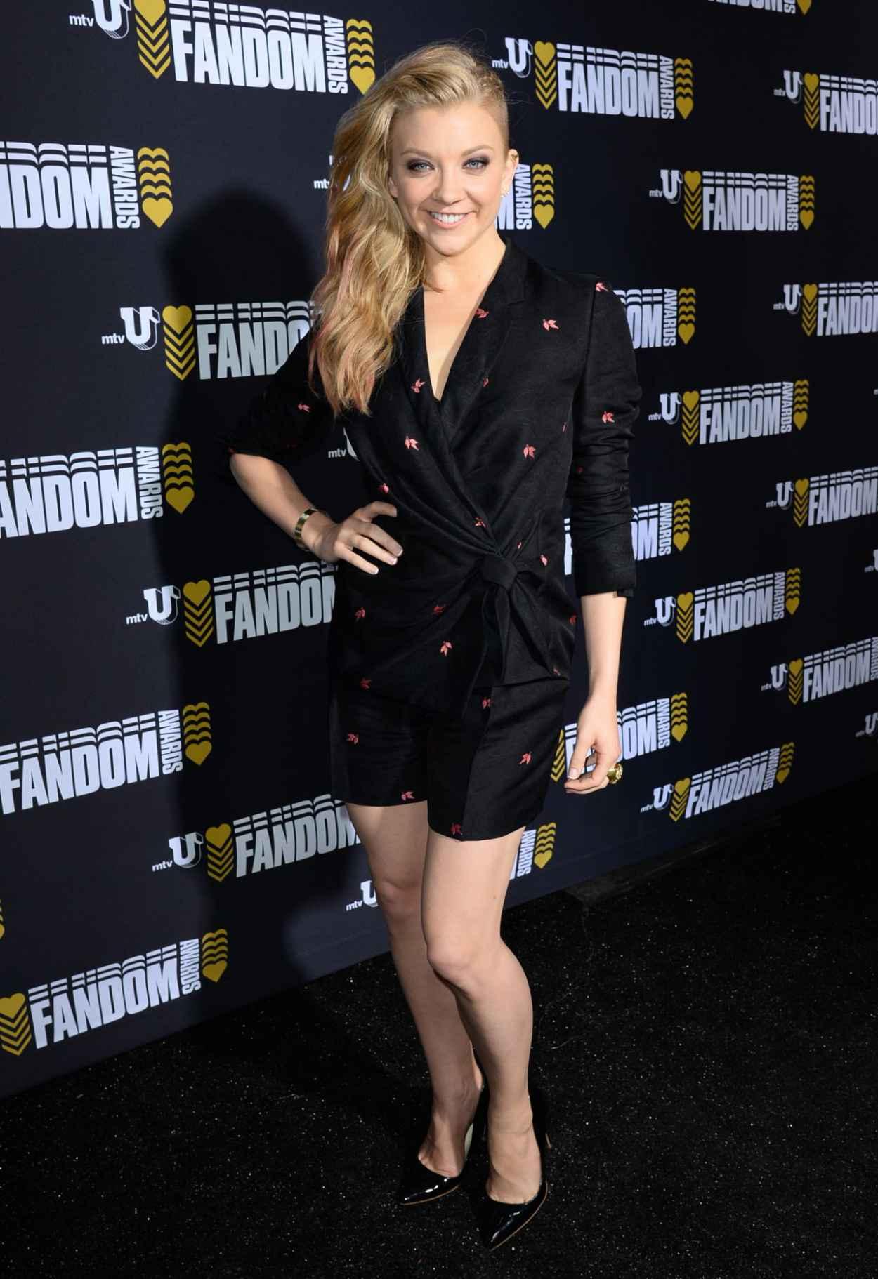 Natalie Dormer - mtvU Fandom Awards 2015 at San Diego International Comic-Con-1