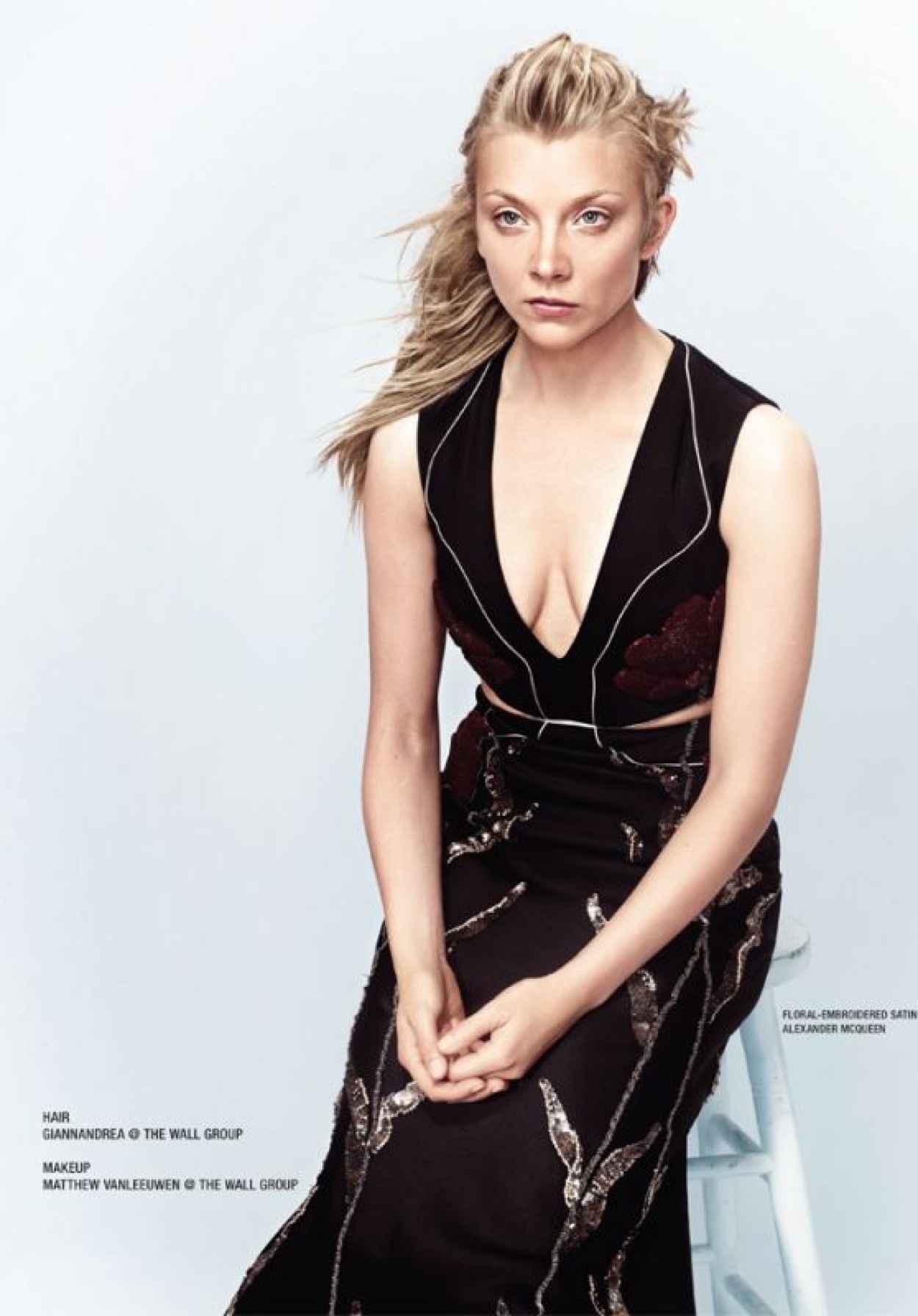 Natalie Dormer - Photoshoot for VVV Magazine 2015-1