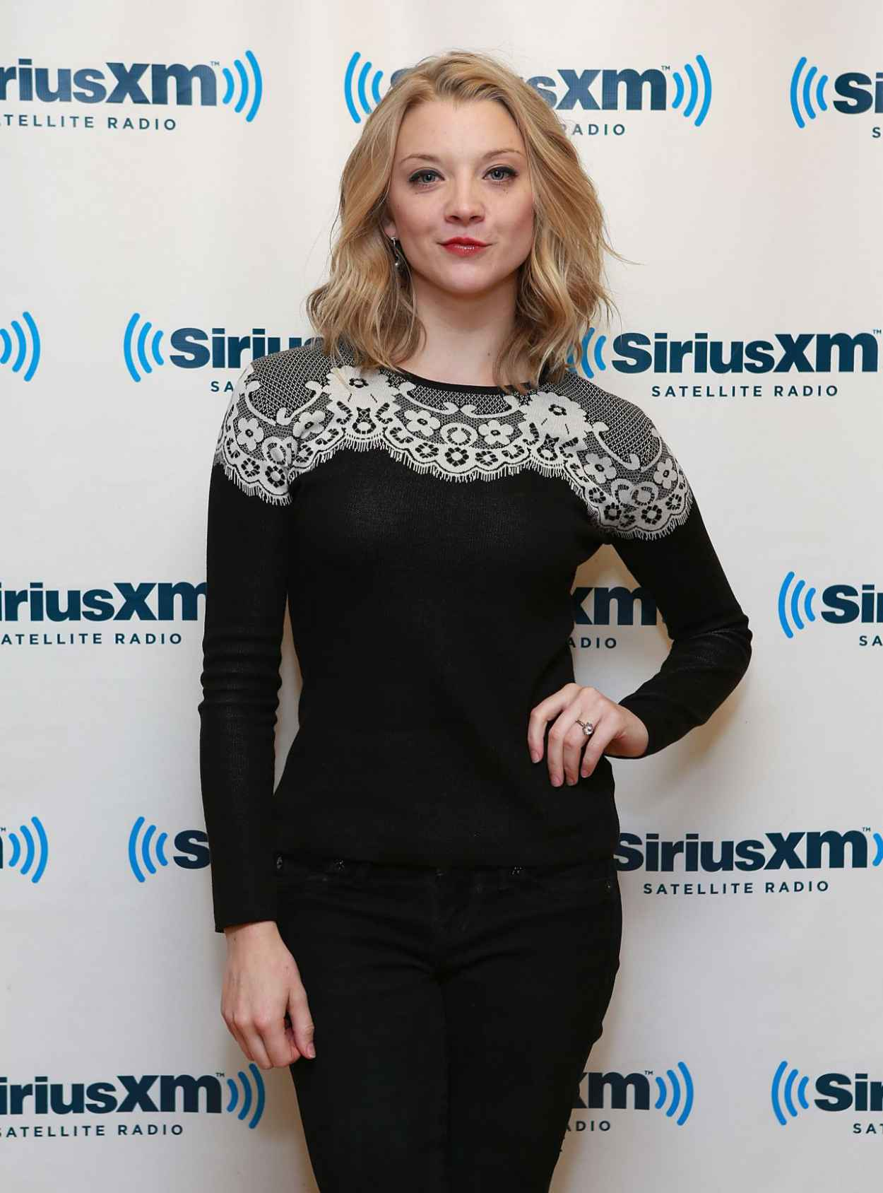 Natalie Dormer - SiriusXM Studios in New York City-1