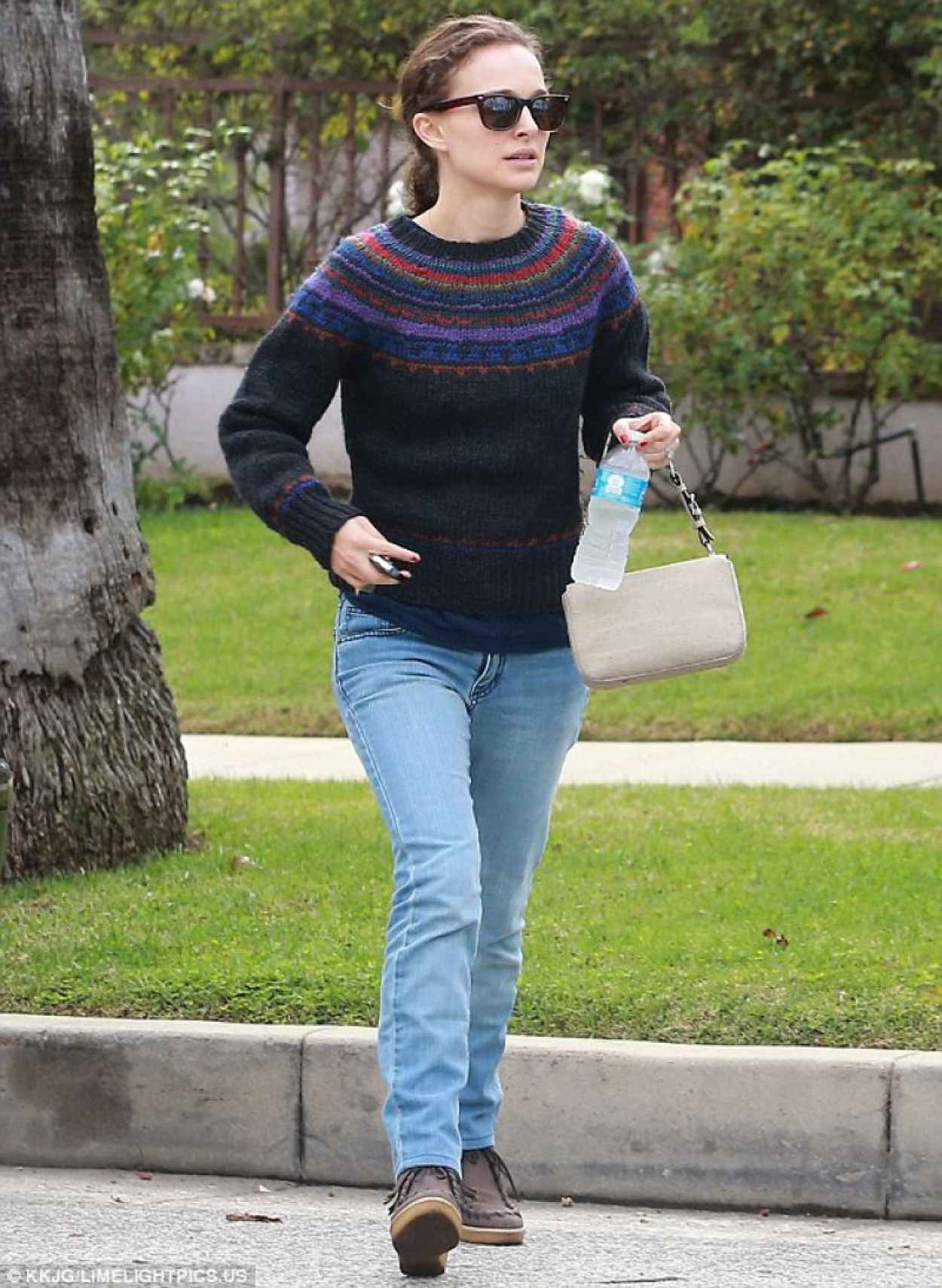Natalie Portman Casual Style - Out in West Hollywood - November 2015-1