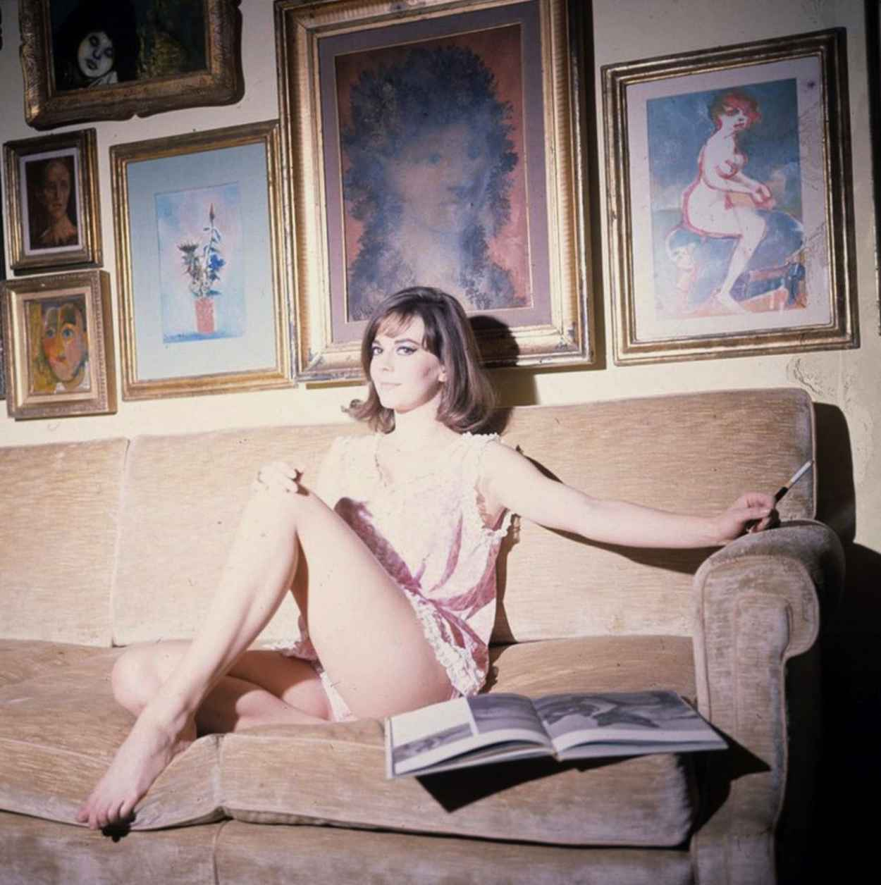 Natalie Wood Rare Shoot - 8 High Quality Photos-1