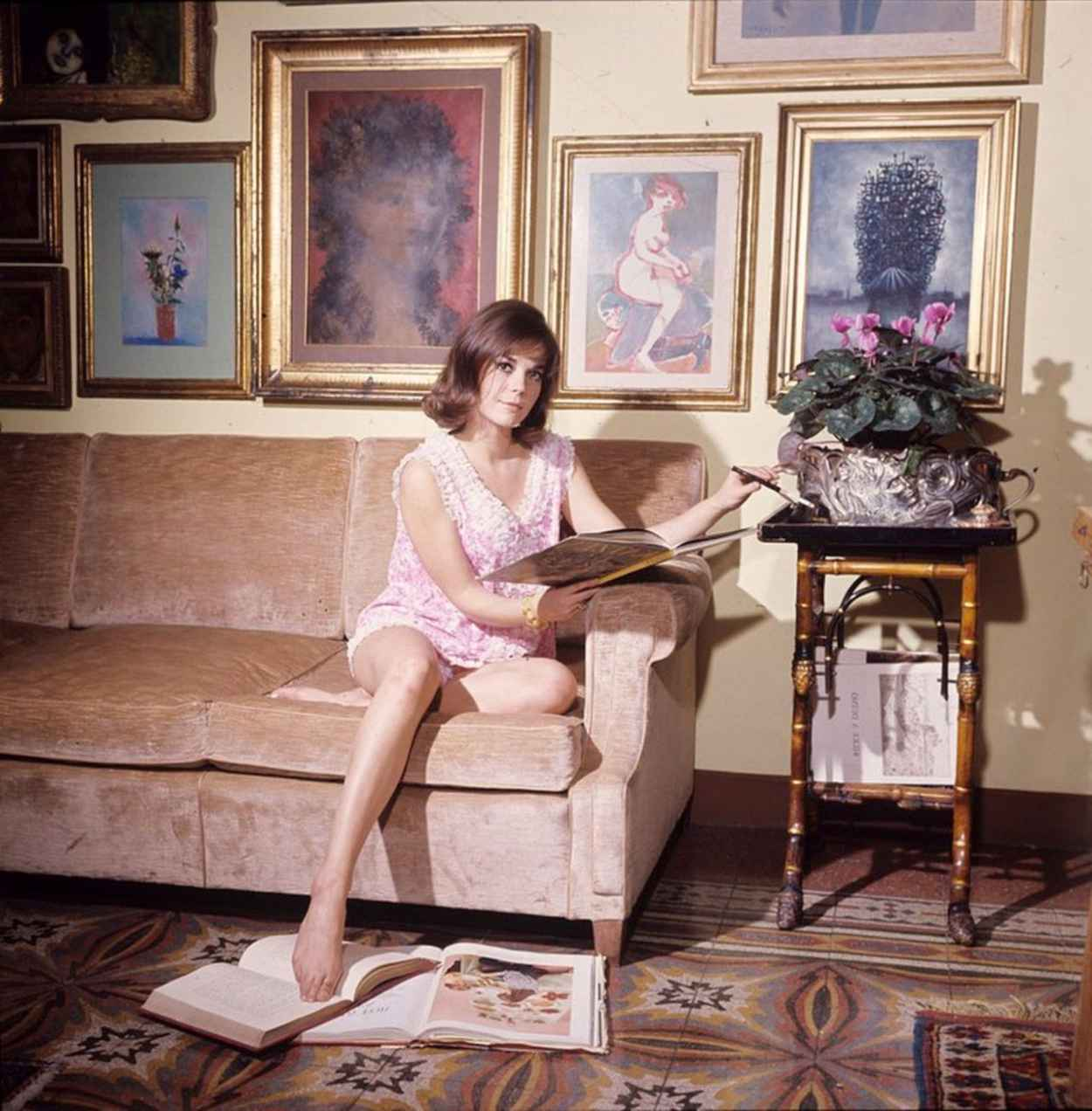 Natalie Wood Rare Shoot - 8 High Quality Photos-3