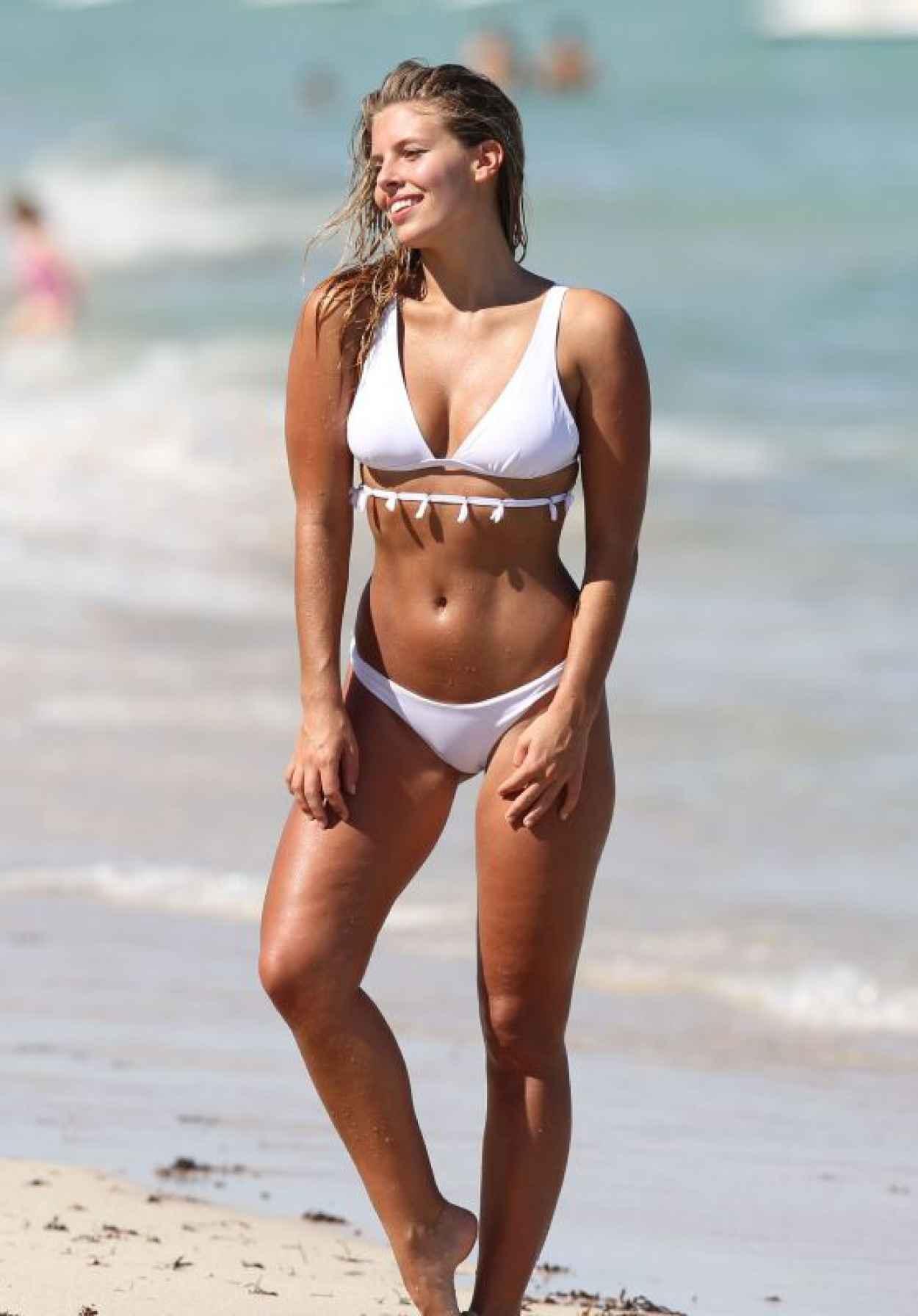 Natasha Oakley in Bikini in Miami, September 2015-1