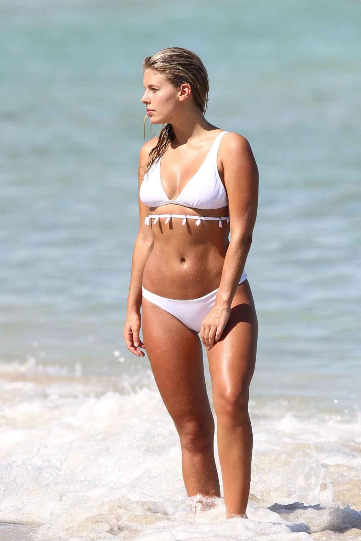 Natasha Oakley in Bikini in Miami, September 2015-2