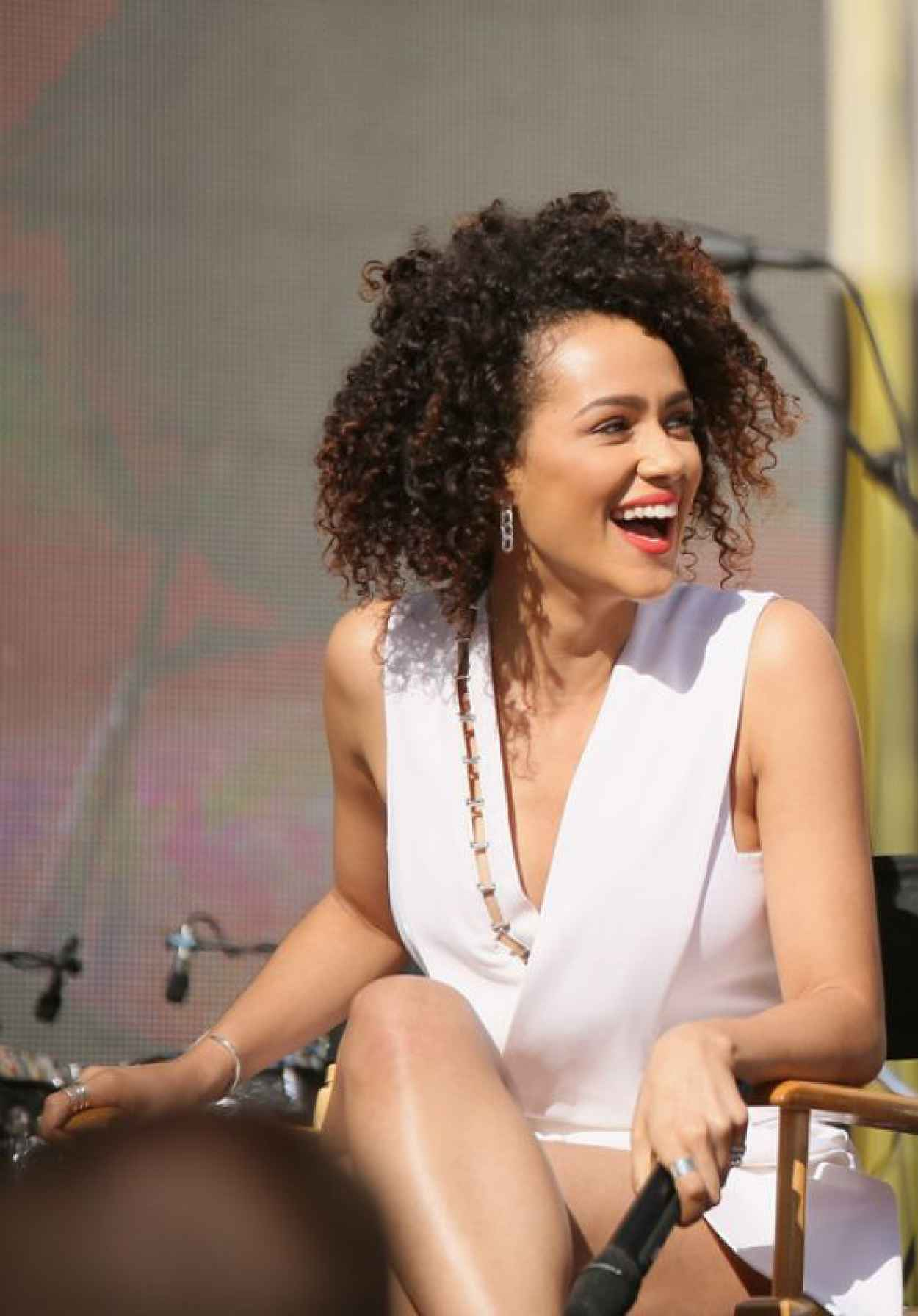 Nathalie Emmanuel - Furious 7 Concert Hosted by REVOLT in Hollywood-1