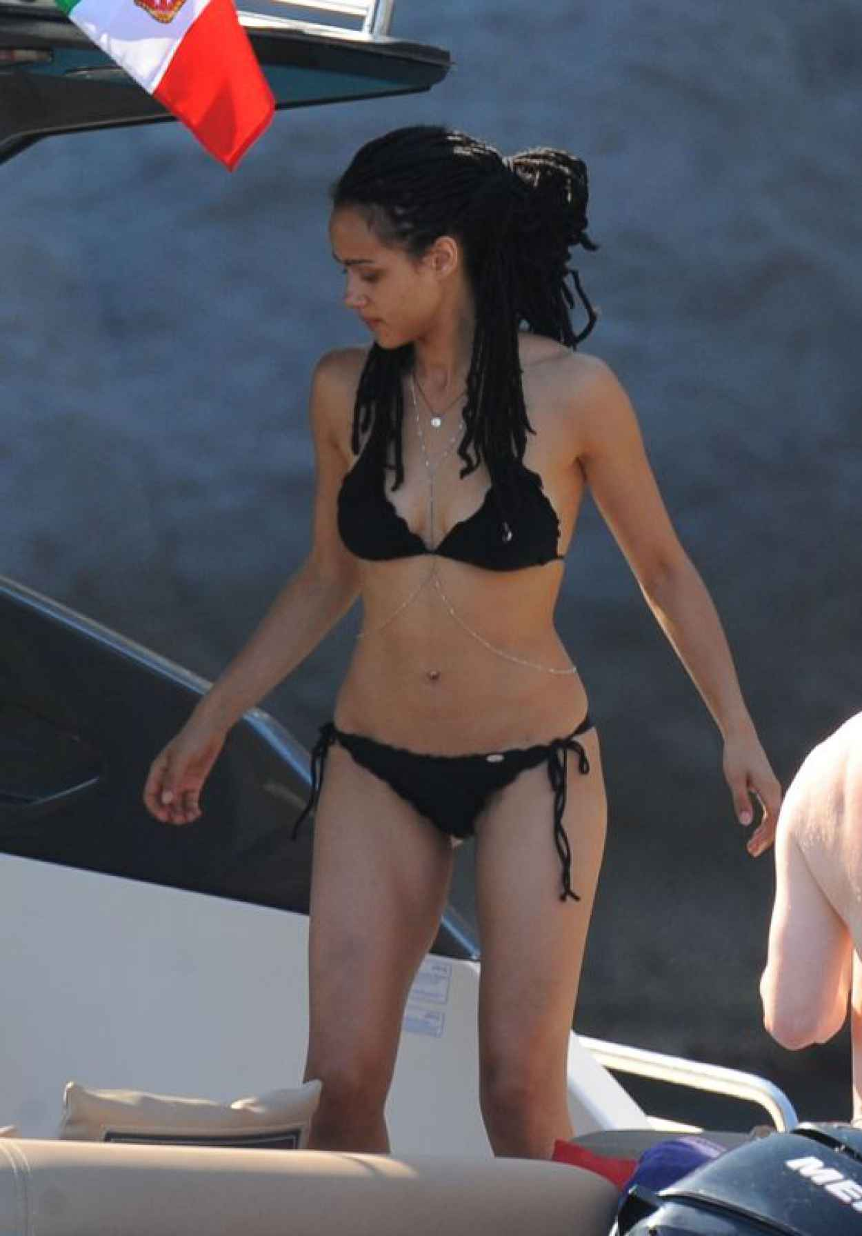 Nathalie Emmanuel in a Bikini in Ischia, July 2015-1