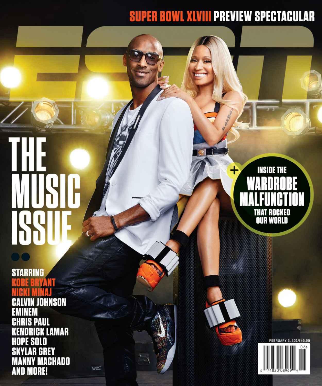 Nicki Minaj - ESPN The Magazine - February 2015 Cover-1