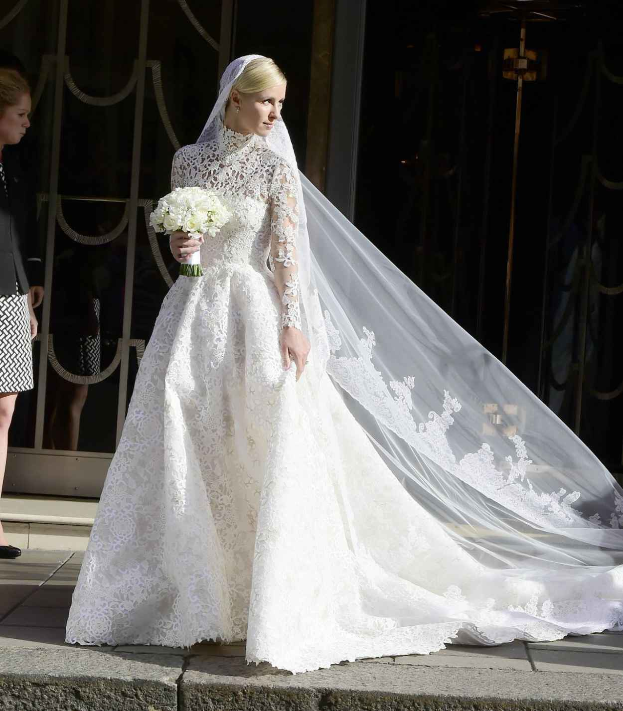 Nicky Hilton and James Rothschilds Wedding Day in London, July 2015-4