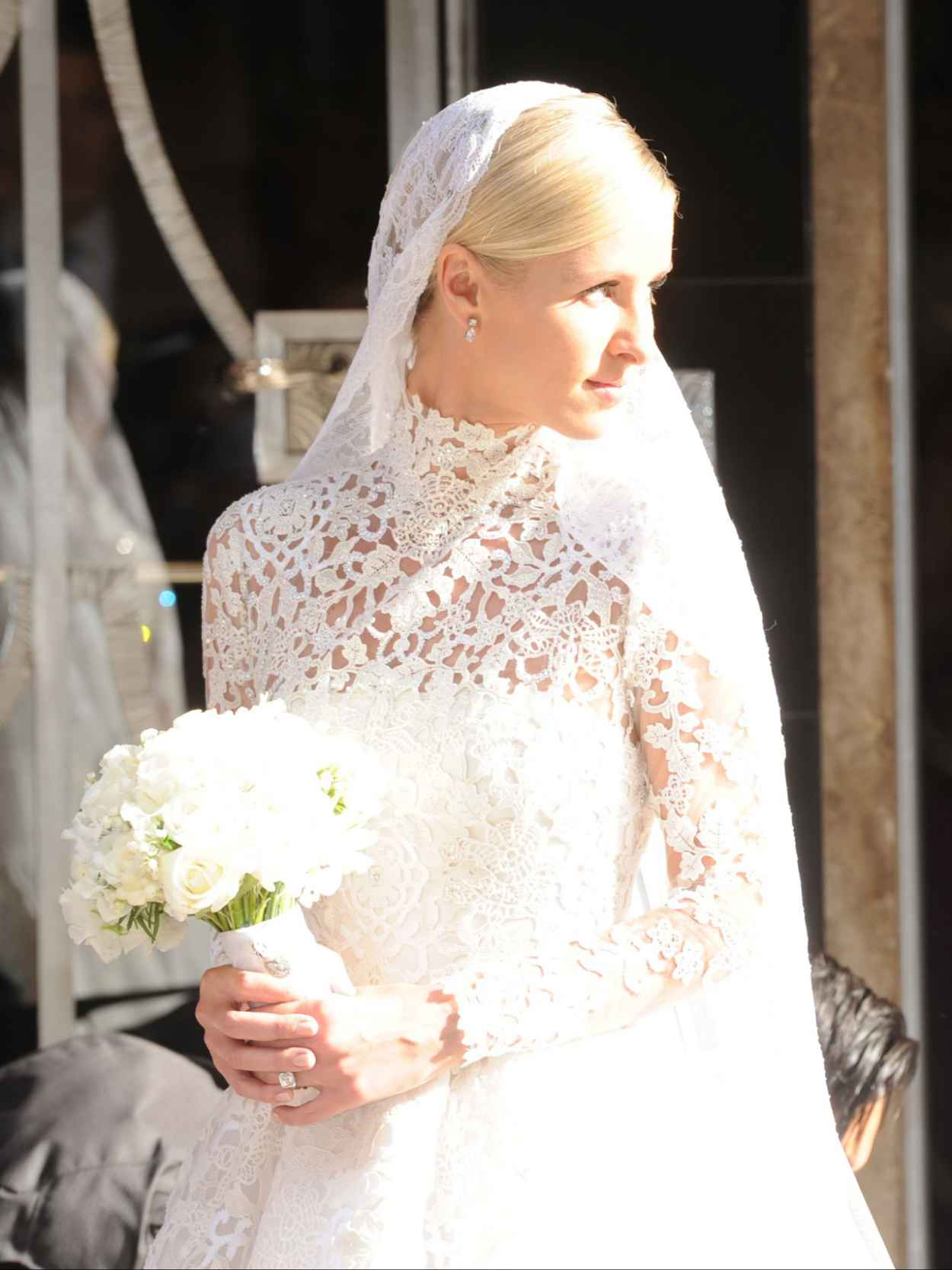 Nicky Hilton and James Rothschilds Wedding Day in London, July 2015-5