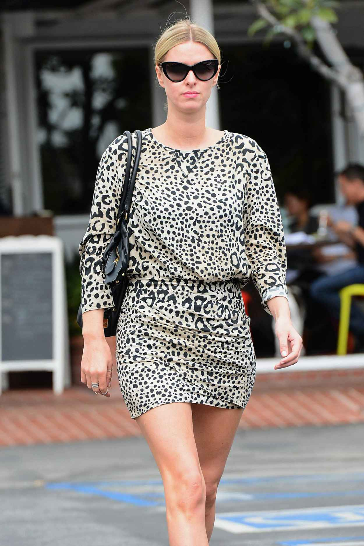 Nicky Hilton Casual Style - Leaves Fred Segal in Los Angeles, March 2015-1