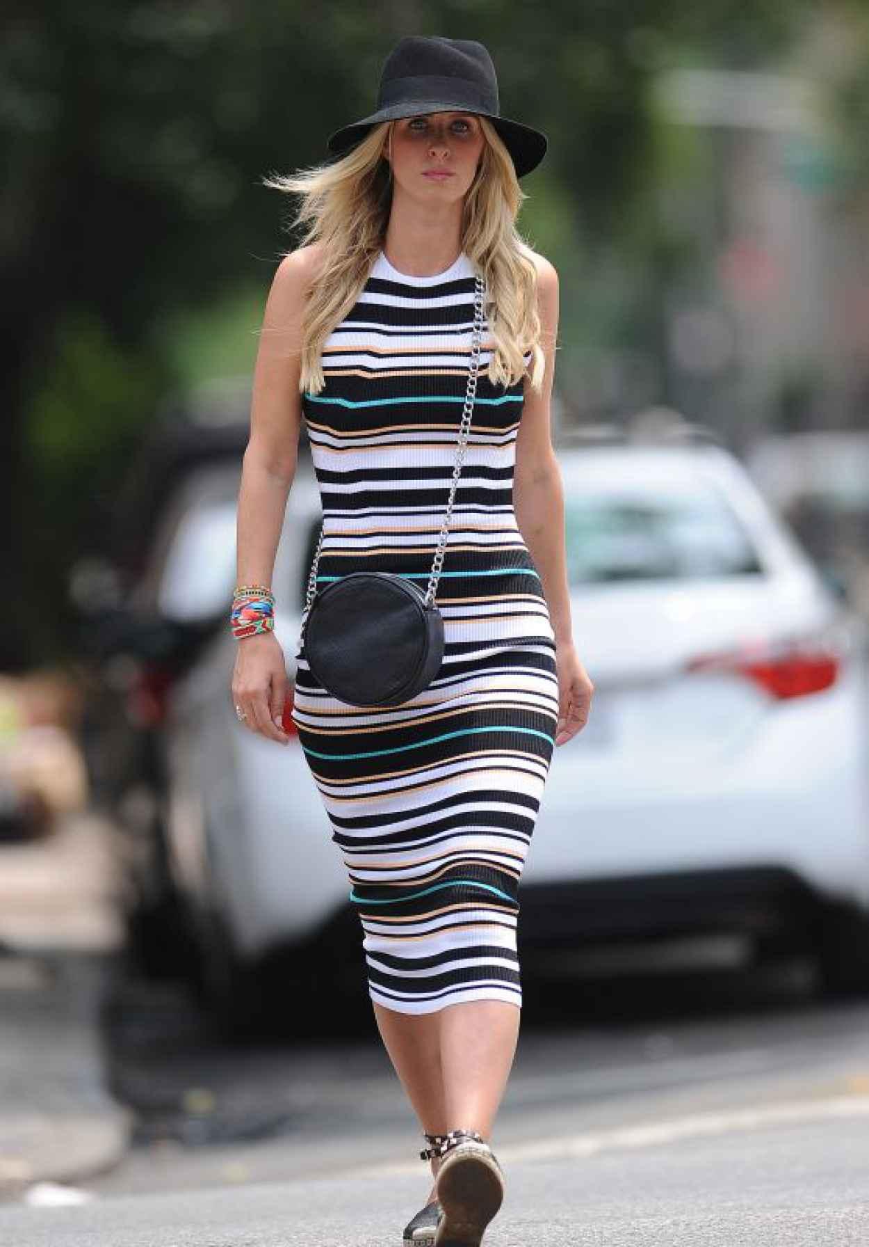 Nicky Hilton Casual Style - Noho, NY, June 2015-1