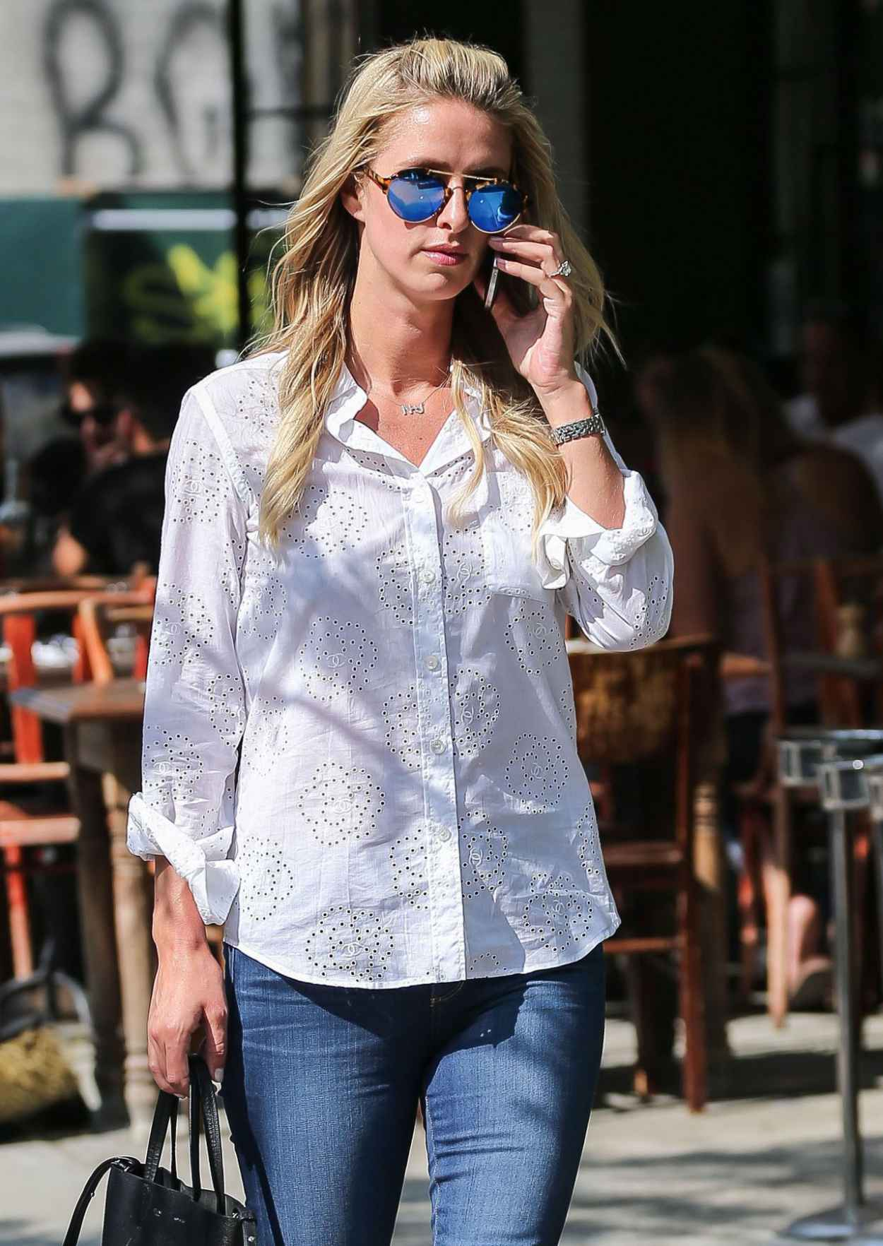 Nicky Hilton in Jeans - Out in New York City, May 2015-2