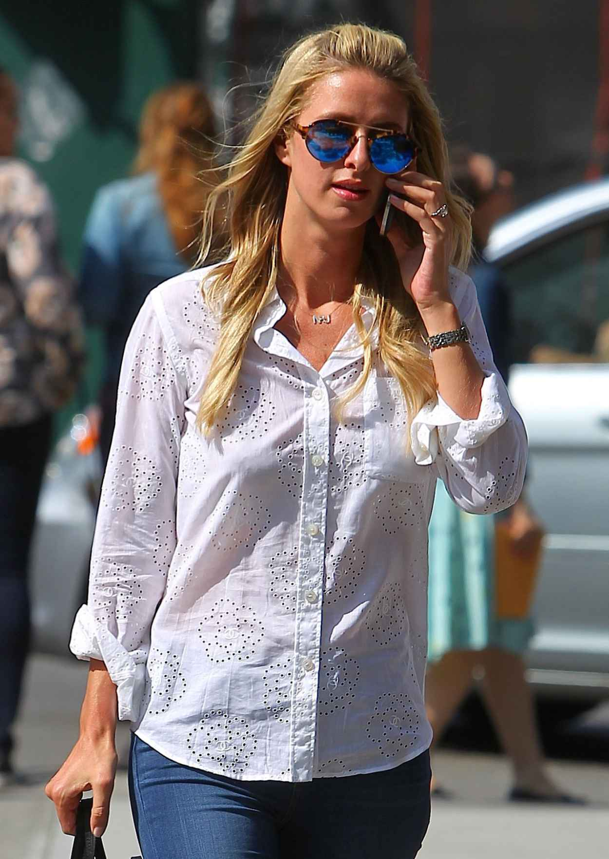 Nicky Hilton in Jeans - Out in New York City, May 2015-4
