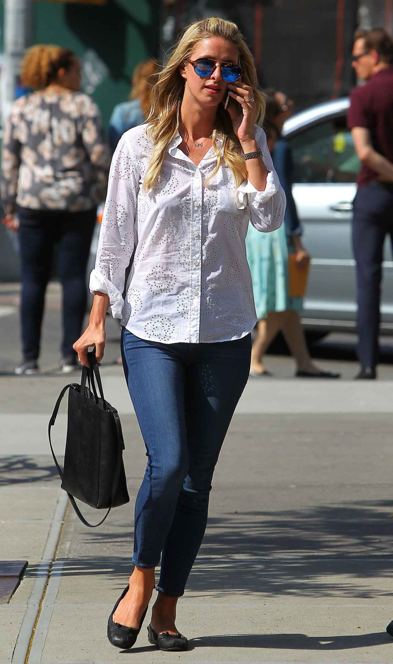 Nicky Hilton in Jeans - Out in New York City, May 2015-5