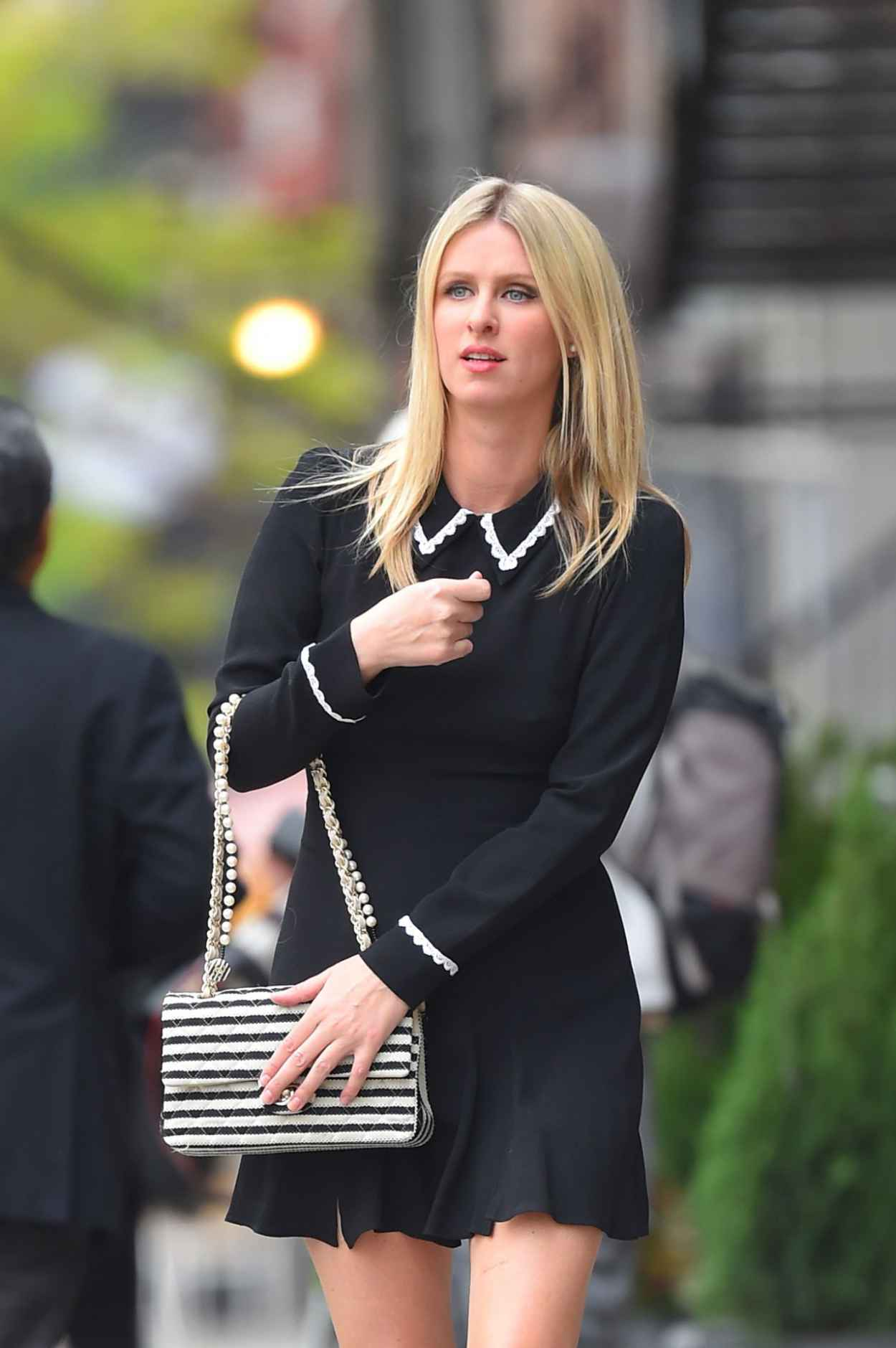 Nicky Hilton in Mini Dress - Out in East Village - May 2015-1