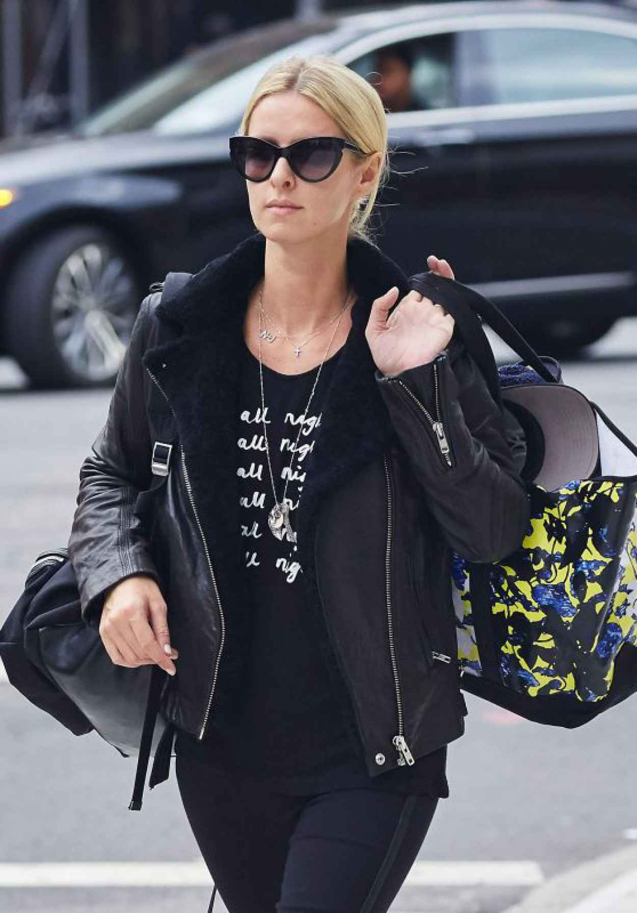Nicky Hilton - Leaving Her Residence in the East Village, October 2015-1
