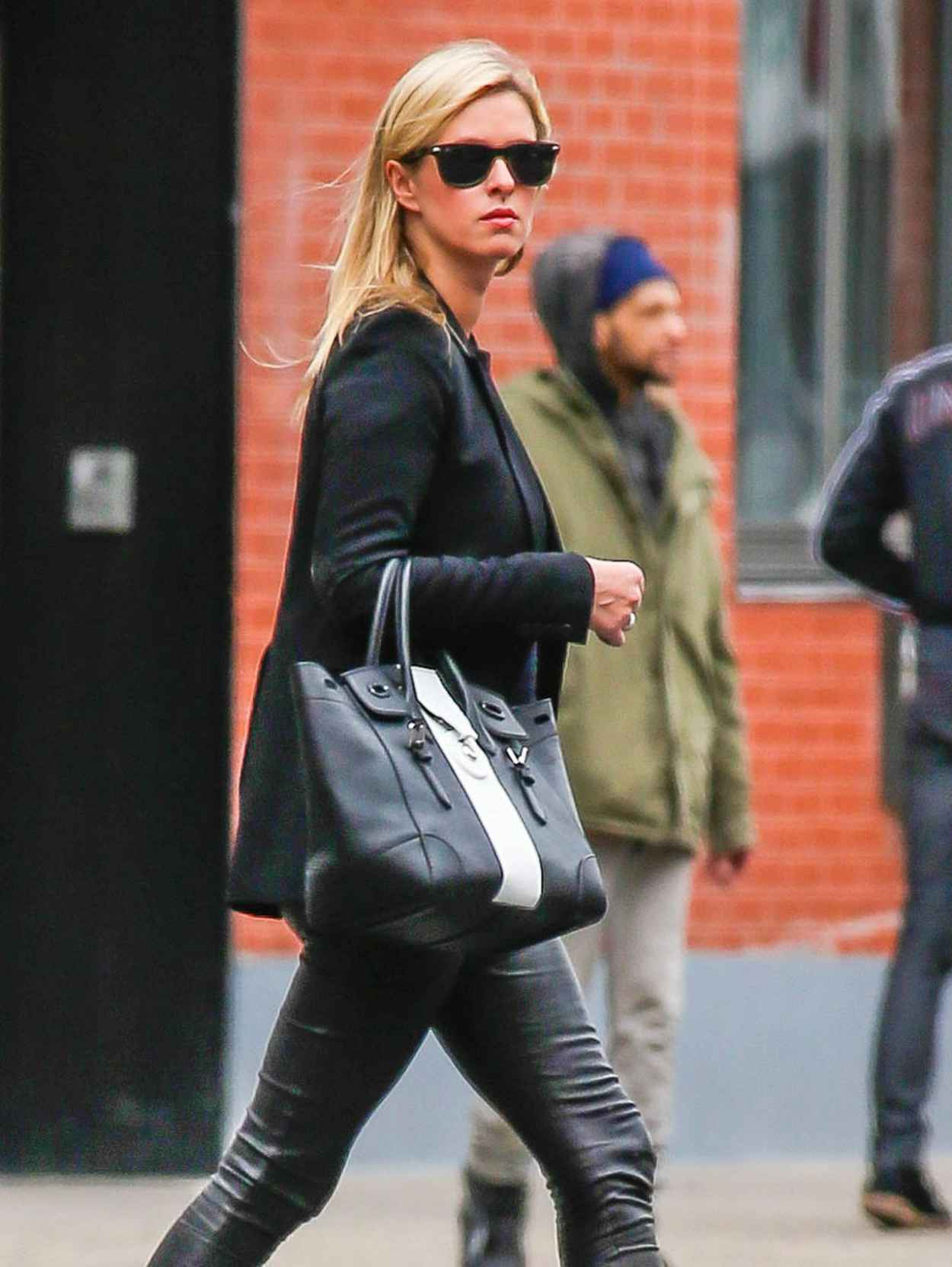 Nicky Hilton - Out in New York City, March 2015-1