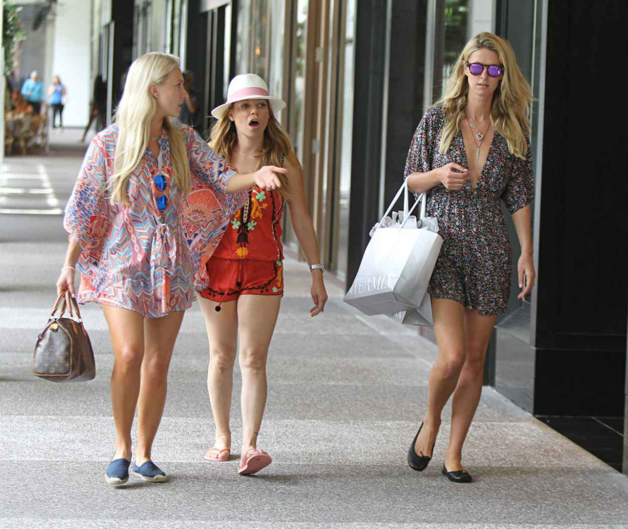 Nicky Hilton Shopping With a Friend at Bal Harbour Mall in Miami, June 2015-3