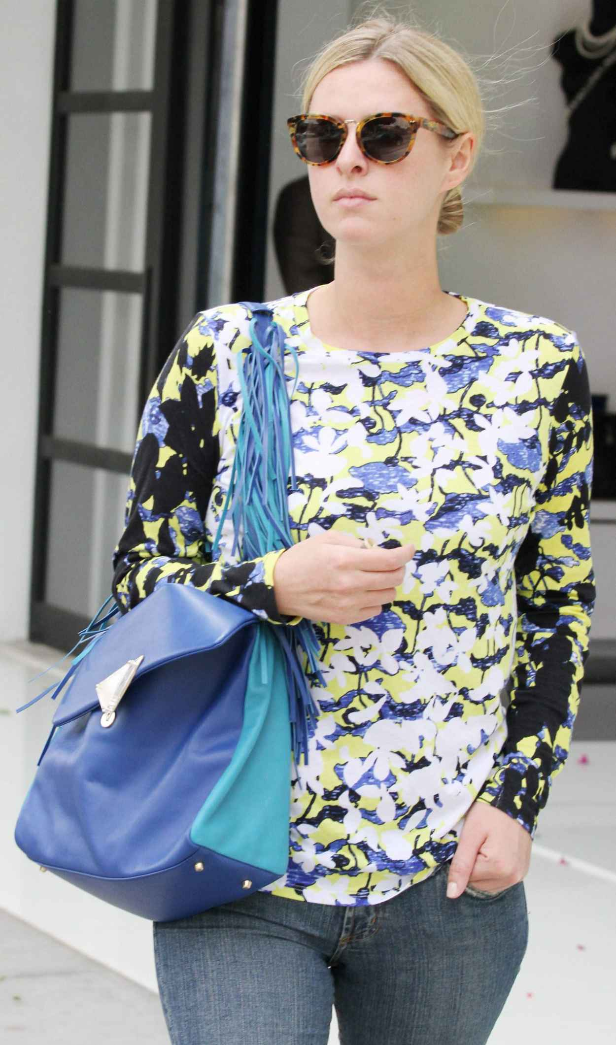 Nicky Hilton Street Style - Shopping on Robertson Boulevard in Beverly Hills - March 2015-1
