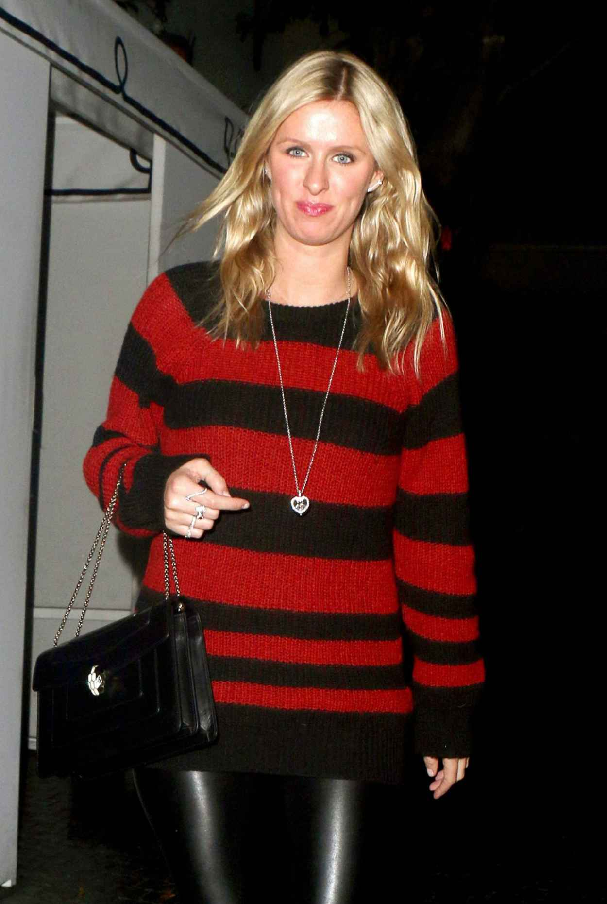 Nicky Hilton Style - Out of Chateau Marmont Restaurant in Los Angeles, December 2015-1
