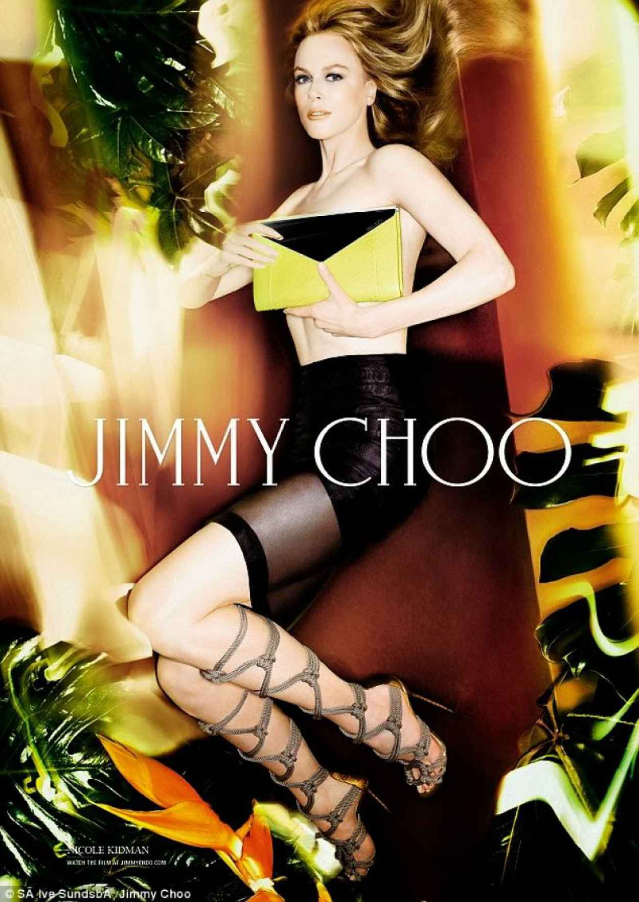 Nicole Kidman Photoshoot for Jimmy Choo Spring/Summer 2015 Collection-1