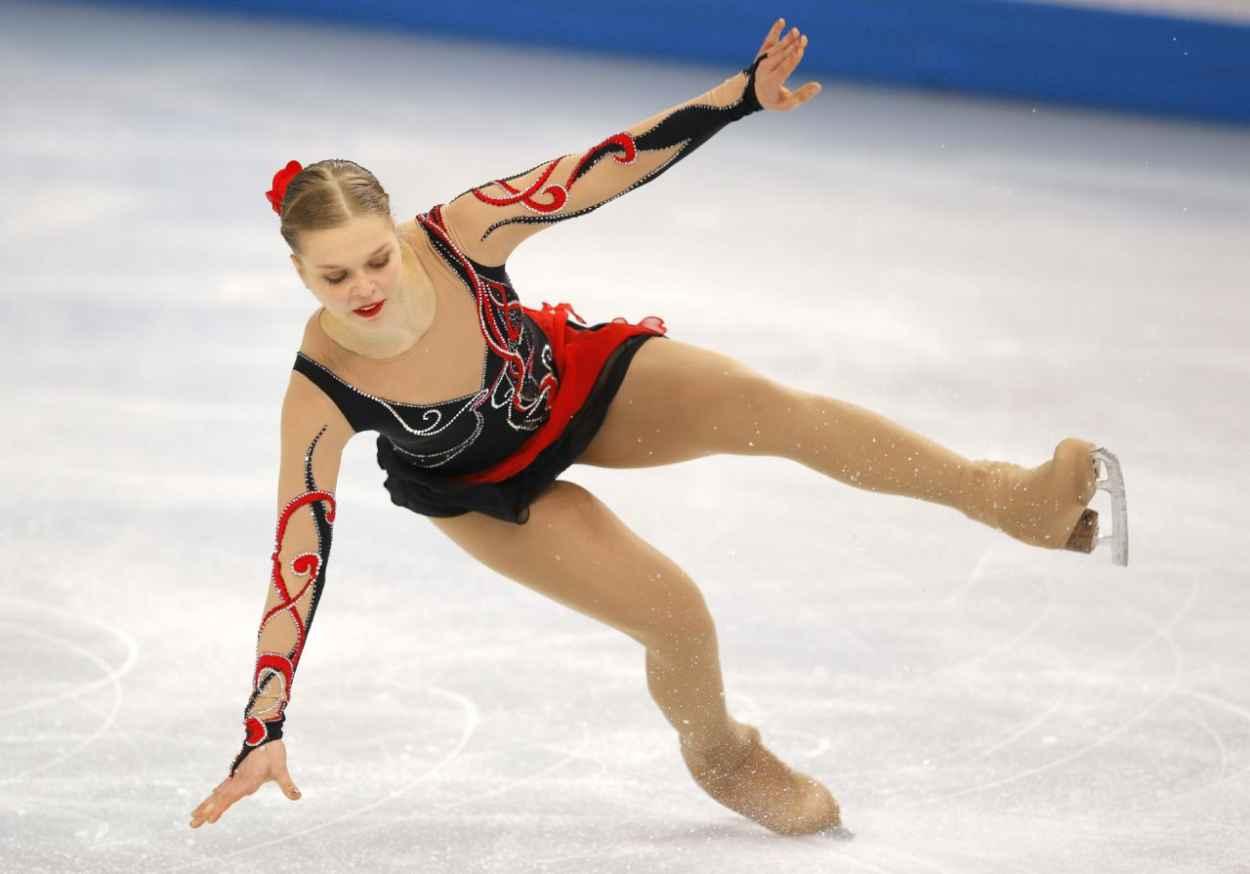 Nicole Rajicova - Women-s Figure Skating Free Program - 2015 Sochi Winter Olympics-1