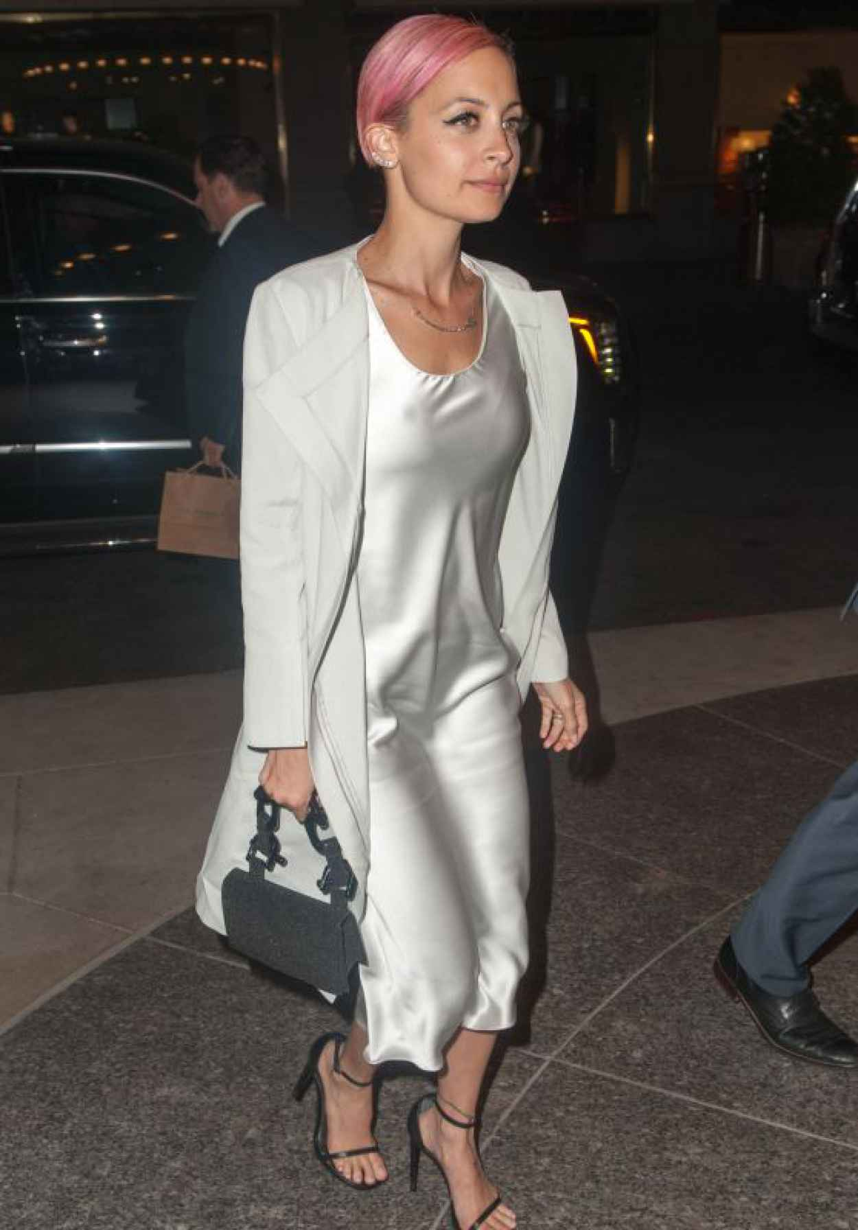 Nicole Richie Night Out Style - Goes for Dinner at Polo Bar in New York, April 2015-1