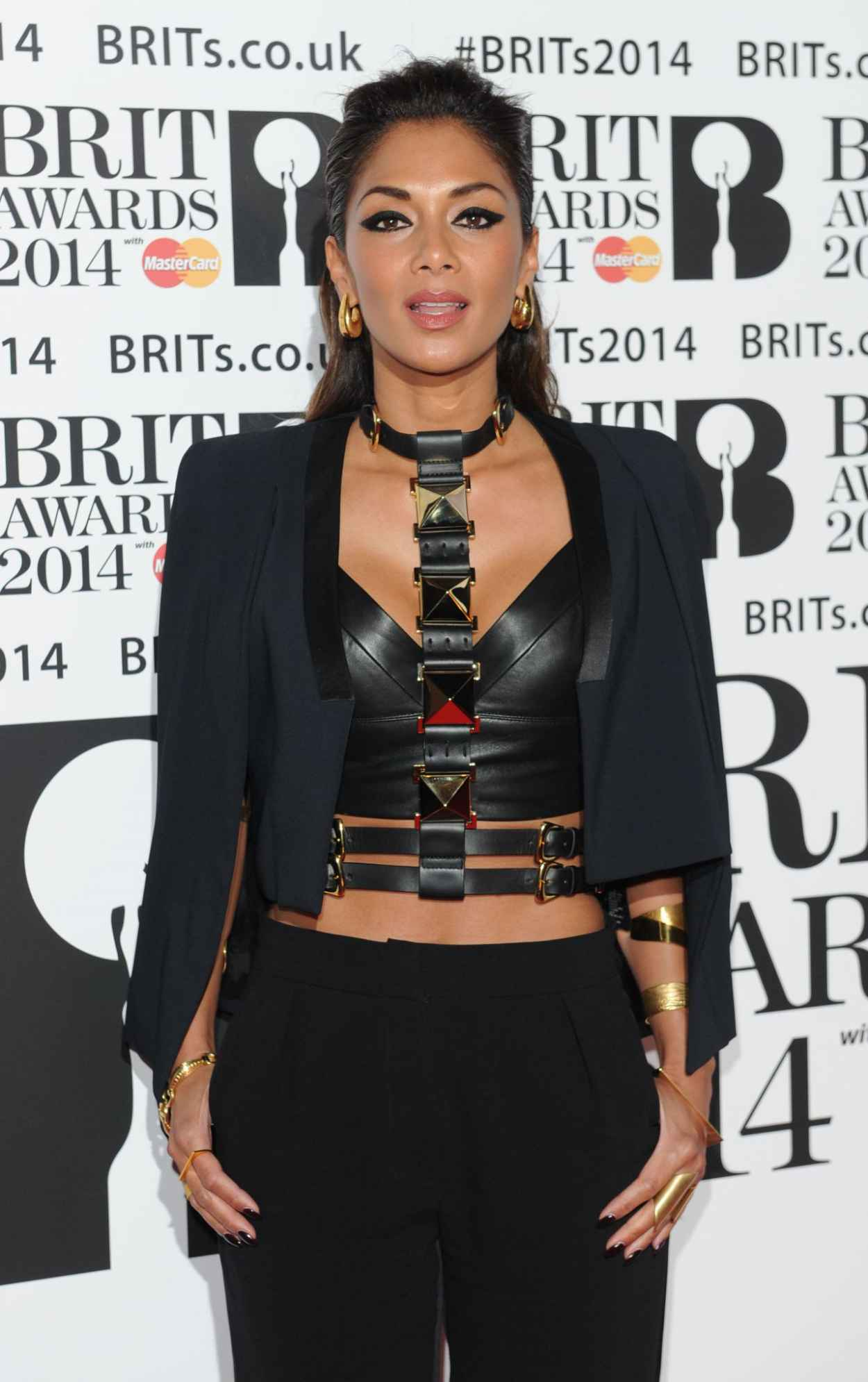 Nicole Scherzinger - 2015 BRIT Awards in London, February 2015-1