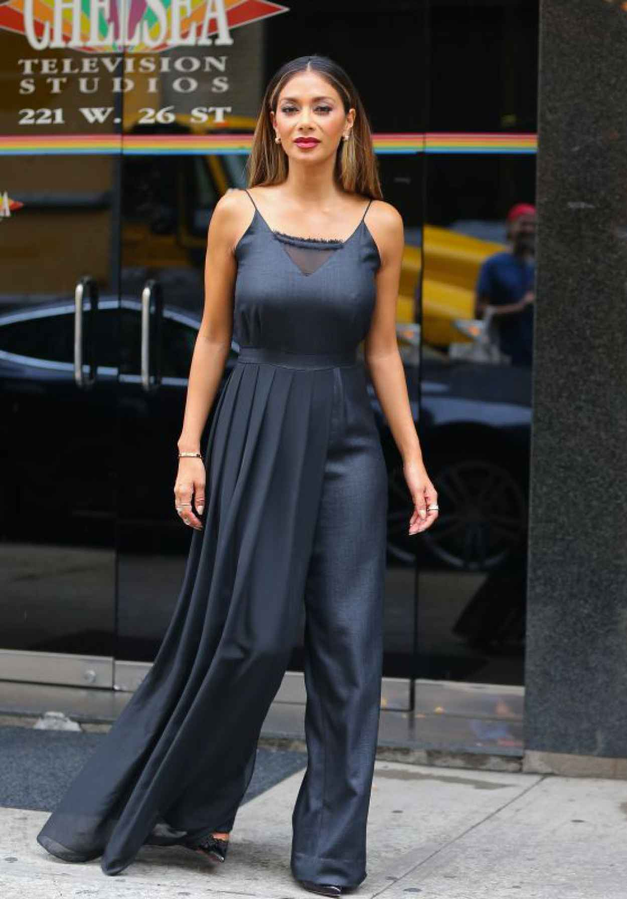 Nicole Scherzinger - Leaving The Wendy Williams Show in New York City-1