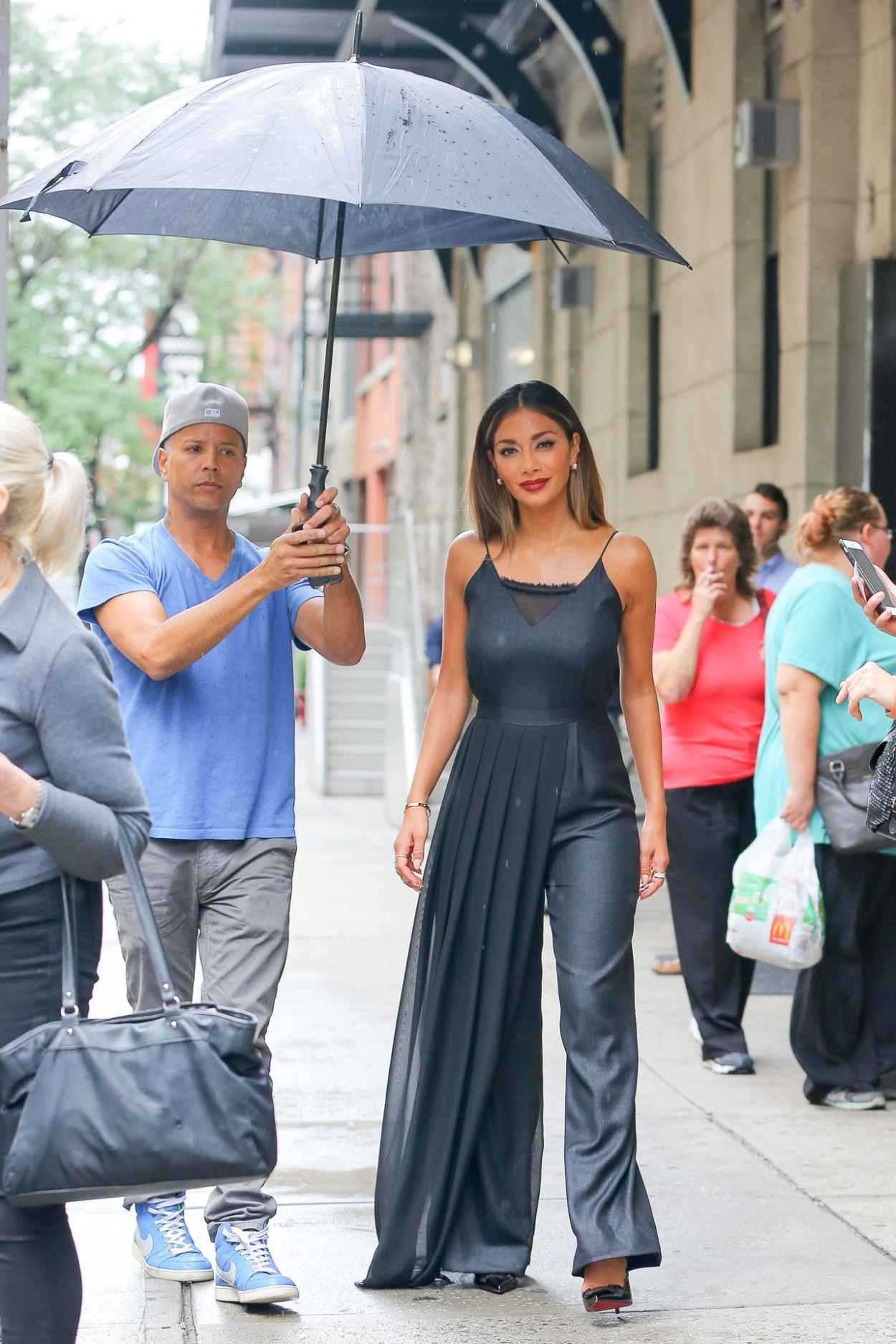 Nicole Scherzinger - Leaving The Wendy Williams Show in New York City-2