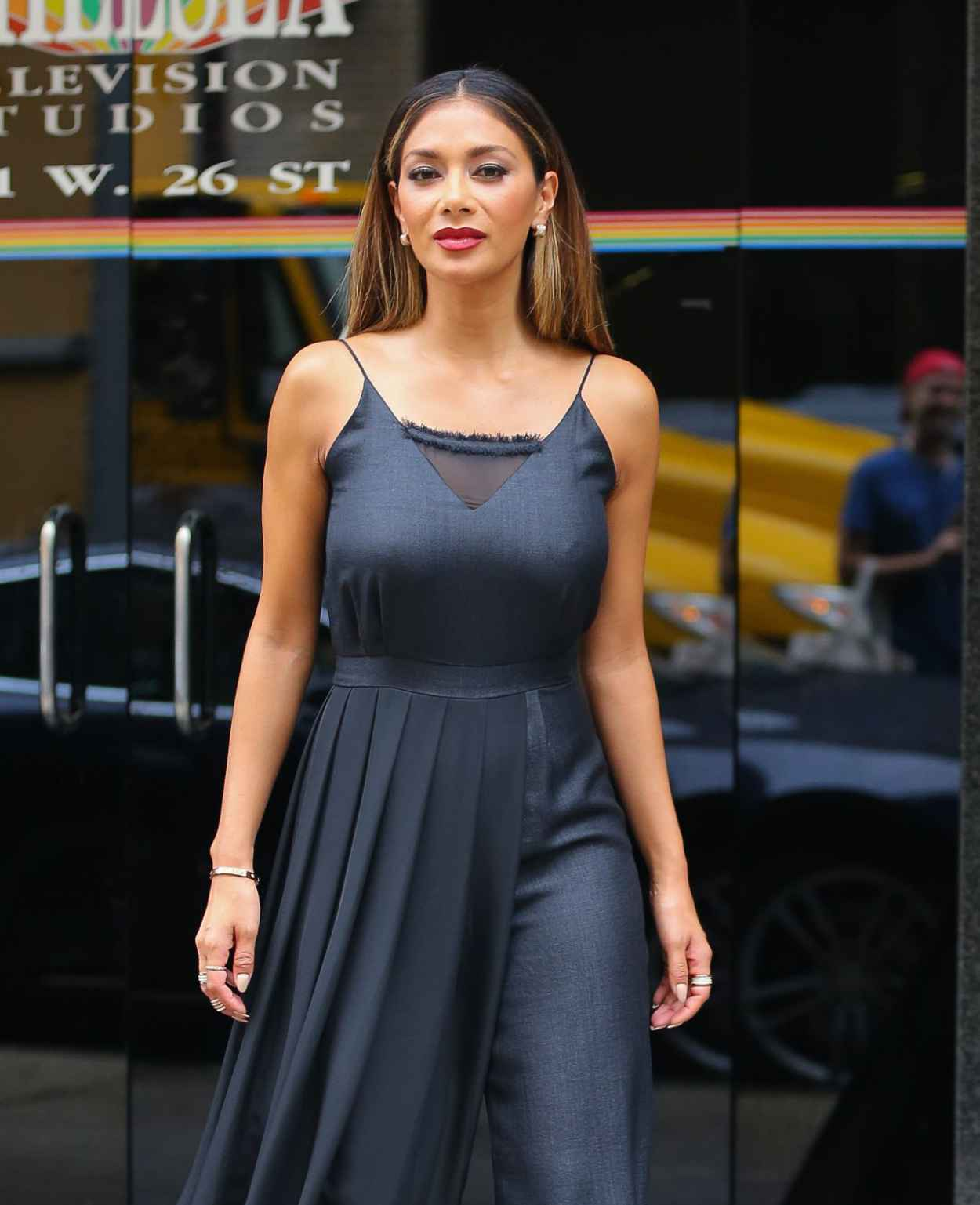 Nicole Scherzinger - Leaving The Wendy Williams Show in New York City-3