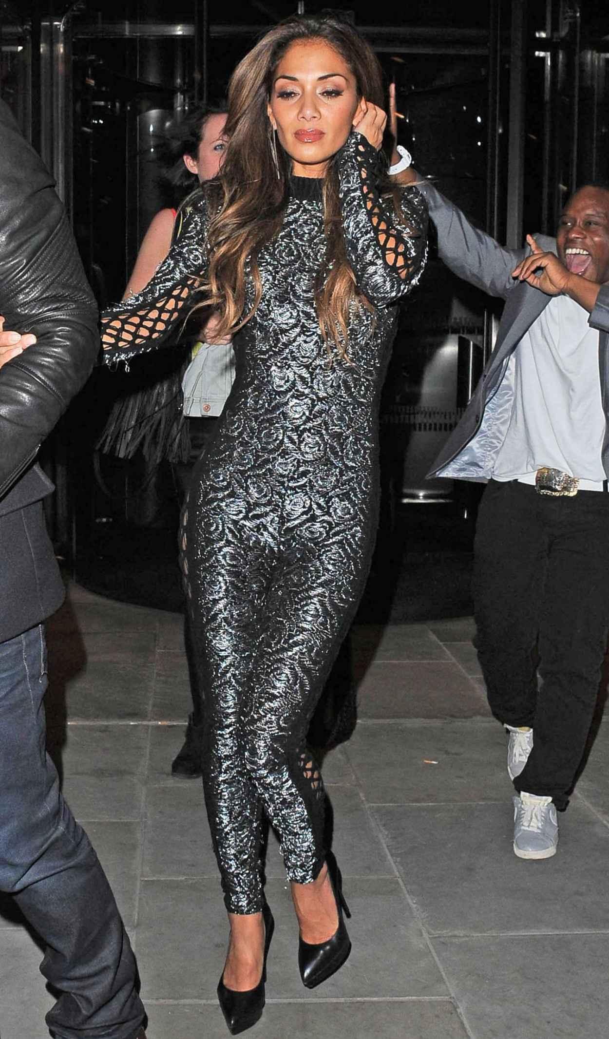 Nicole Scherzinger Shows Off Hot Body - Attending Sushi Sambas One Year Anniversary Party London-1