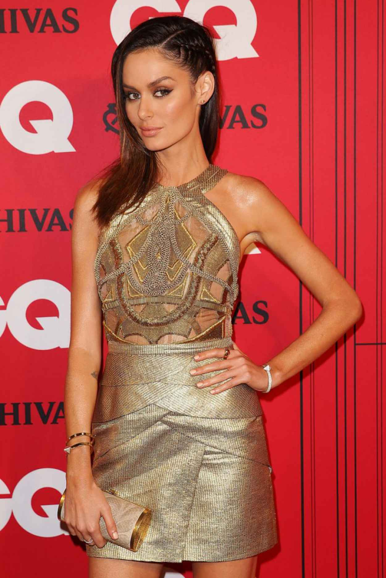Nicole Trunfio on Red Carpet - GQ Men of the Year Awards in Sydney - November 2015-1