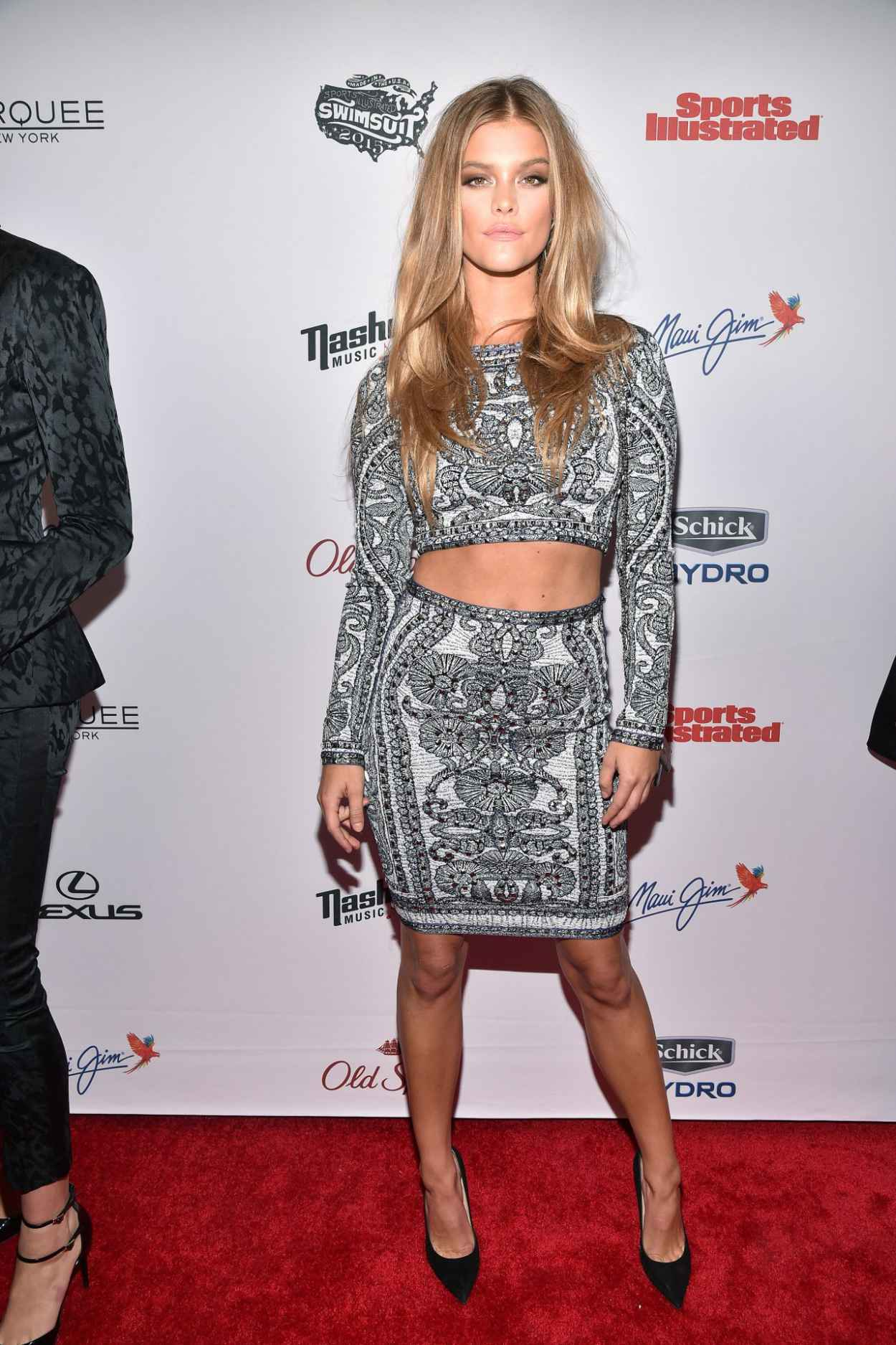 Nina Agdal - 2015 Sports Illustrated Swimsuit Issue Celebration in New York City-4