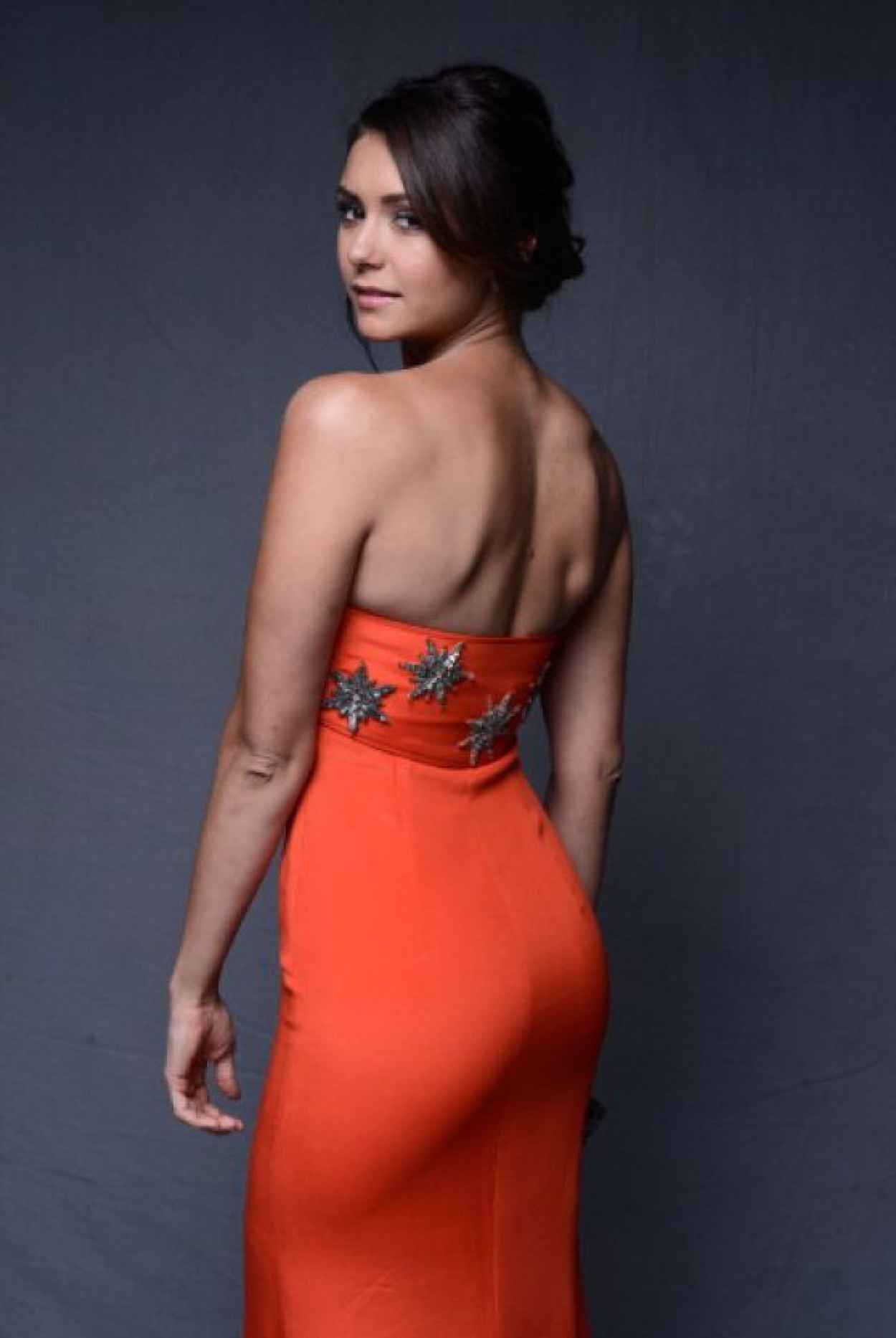 Nina Dobrev - The Art of Elysiums 7th Annual HEAVEN Gala in Los Angeles-1
