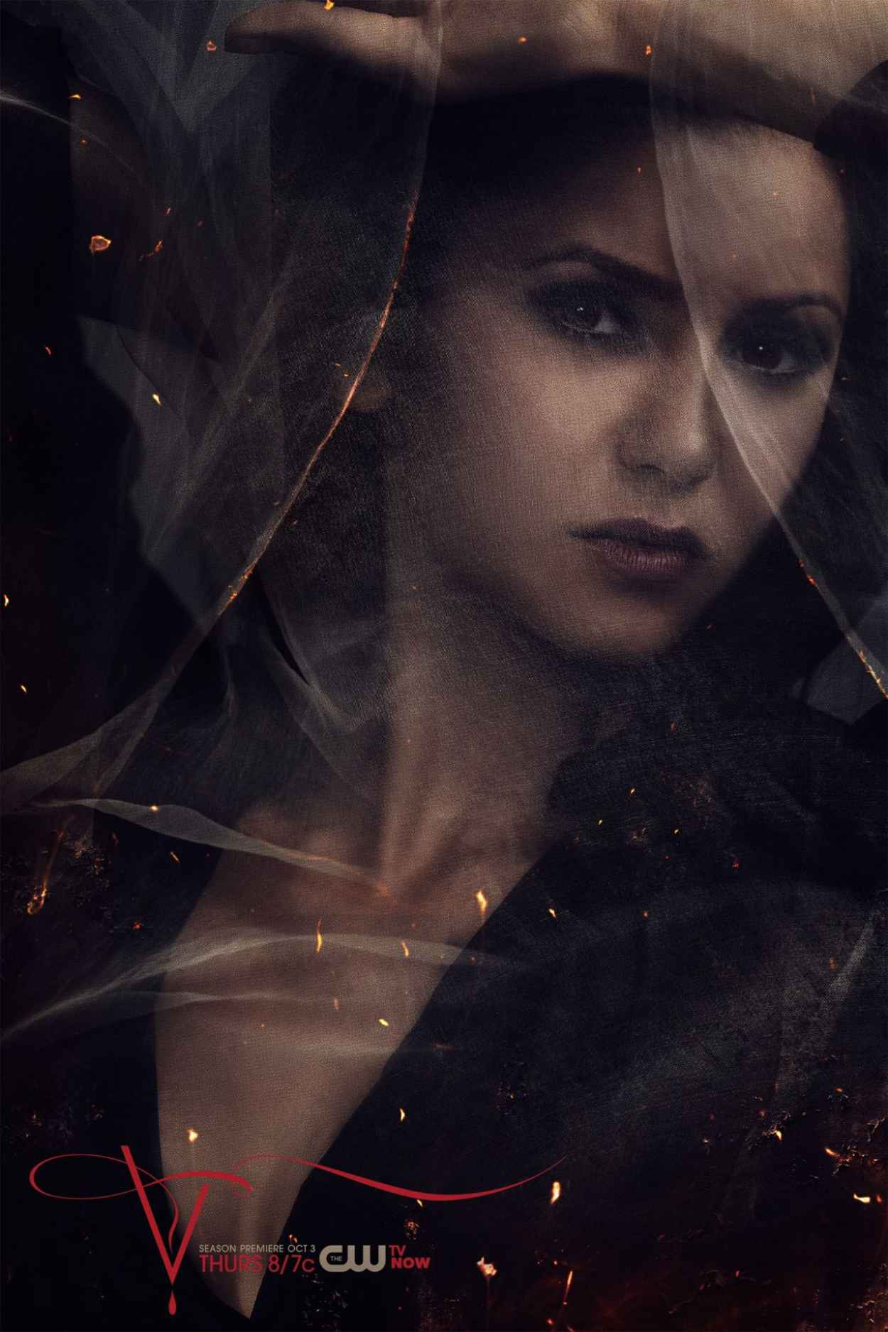 Nina Dobrev - -The Vampire Diaries- TV Series - Season 5 Promo Photos-1