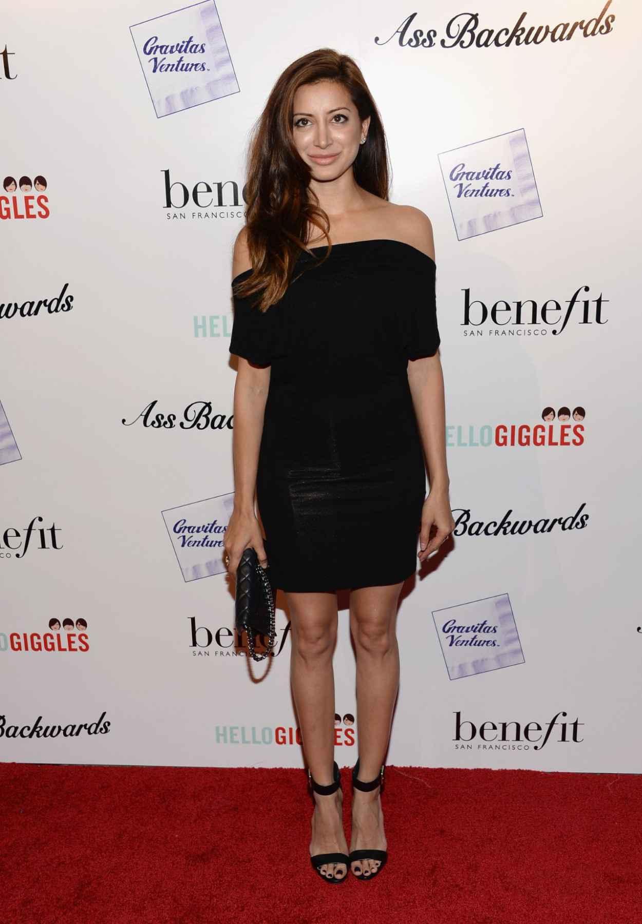 Noureen DeWulf - ASS BACKWARDS Movie Premiere in Los Angeles-1