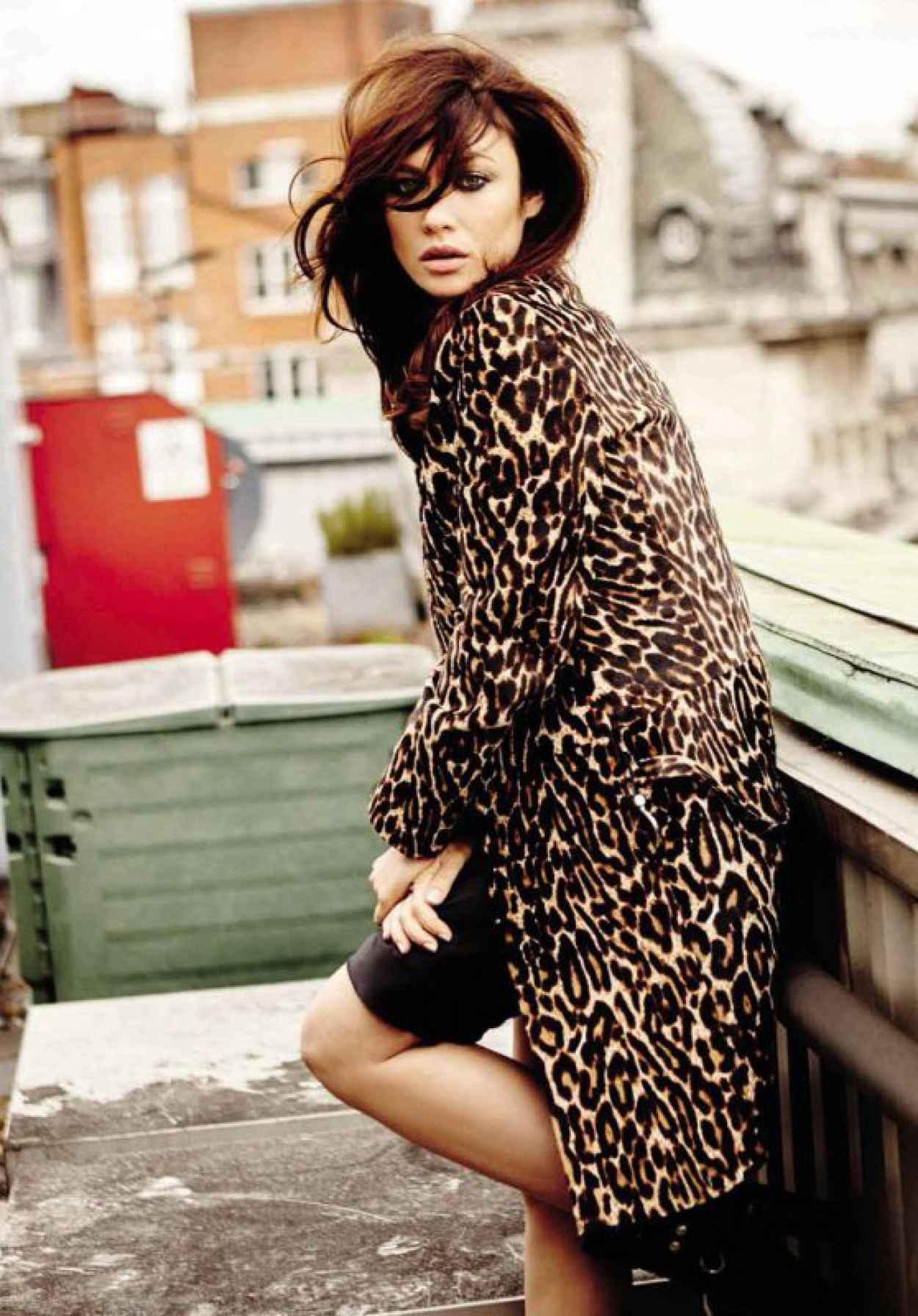 Olga Kurylenko - Vogue Magazine Spain August 2015 Issue and Pics-1