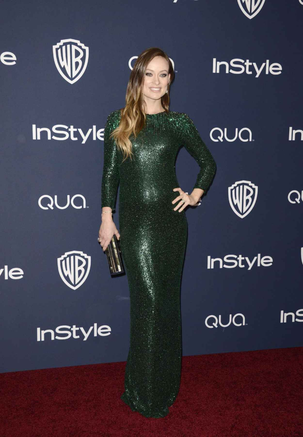 Olivia Wilde - InStyle & Warner Bros. 2015 Golden Globe Awards Post-Party-1