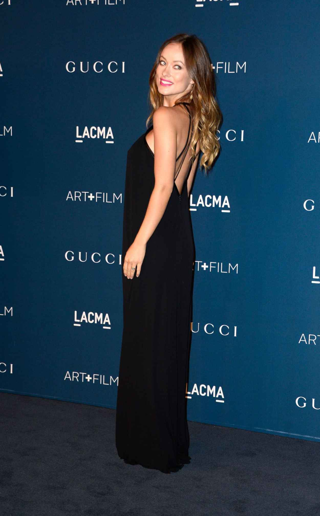 Olivia Wilde on Red Carpet - at 2015 LACMA Art + Film Gala in Los Angeles-1