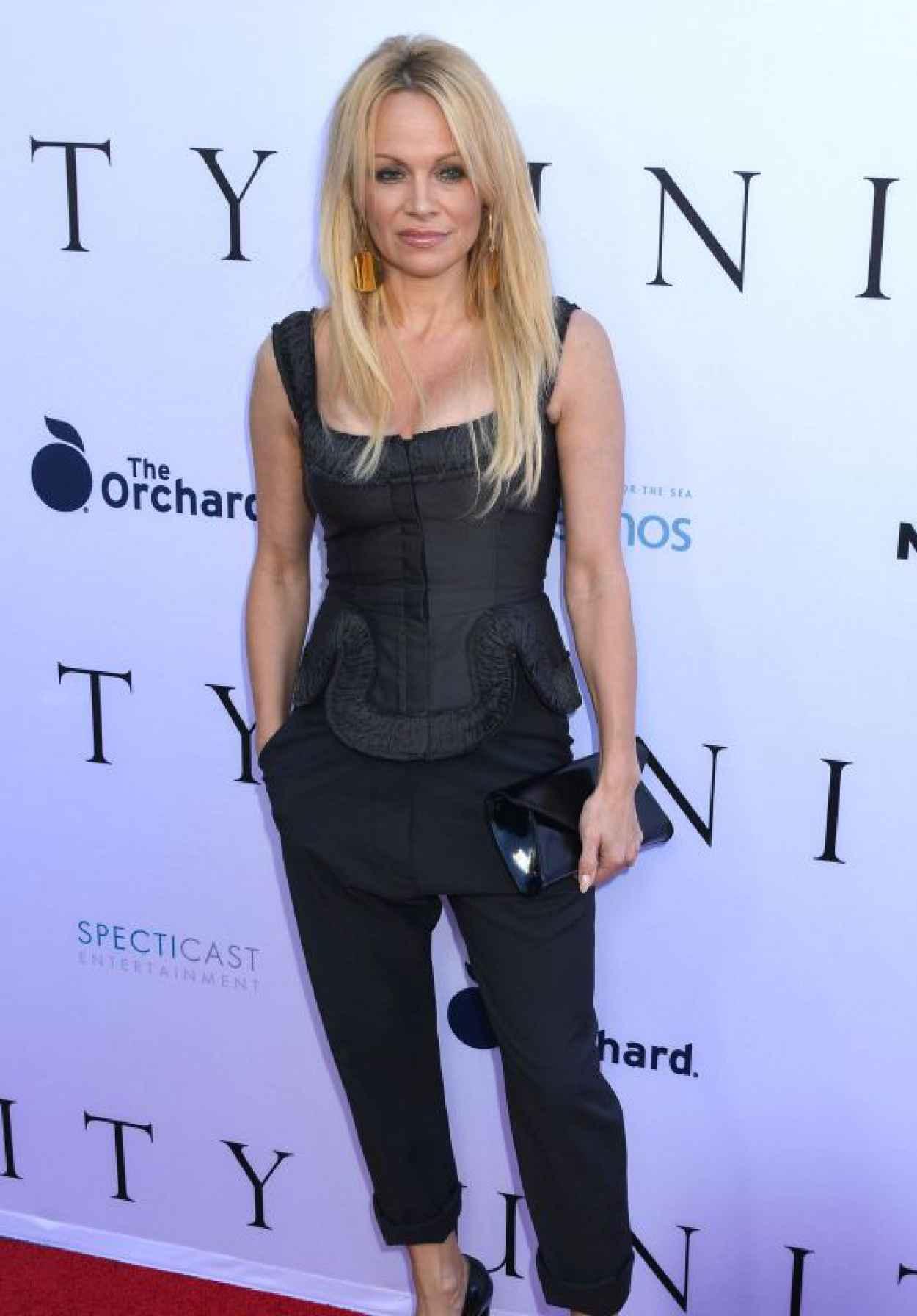 Pamela Anderson - Unity Premiere in Los Angeles-1