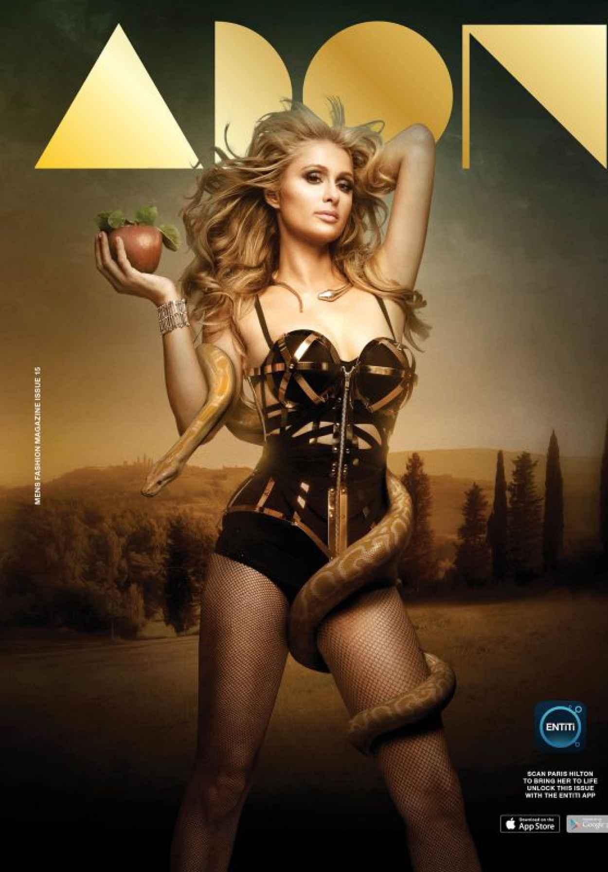 Paris Hilton - And God Created Paris Photoshoot for Adorn Magazine-1