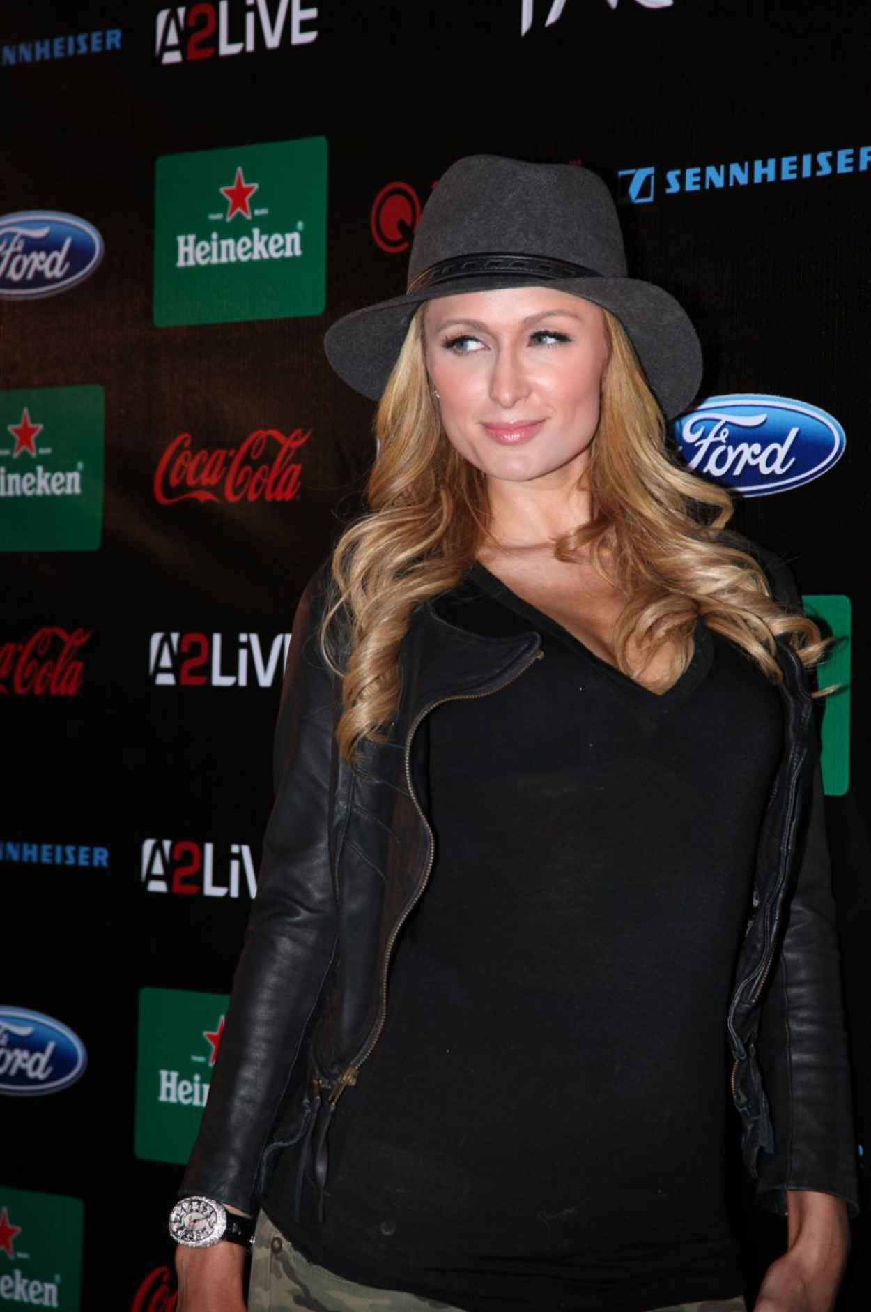 Paris Hilton at Storm Electronic Music Festival-1
