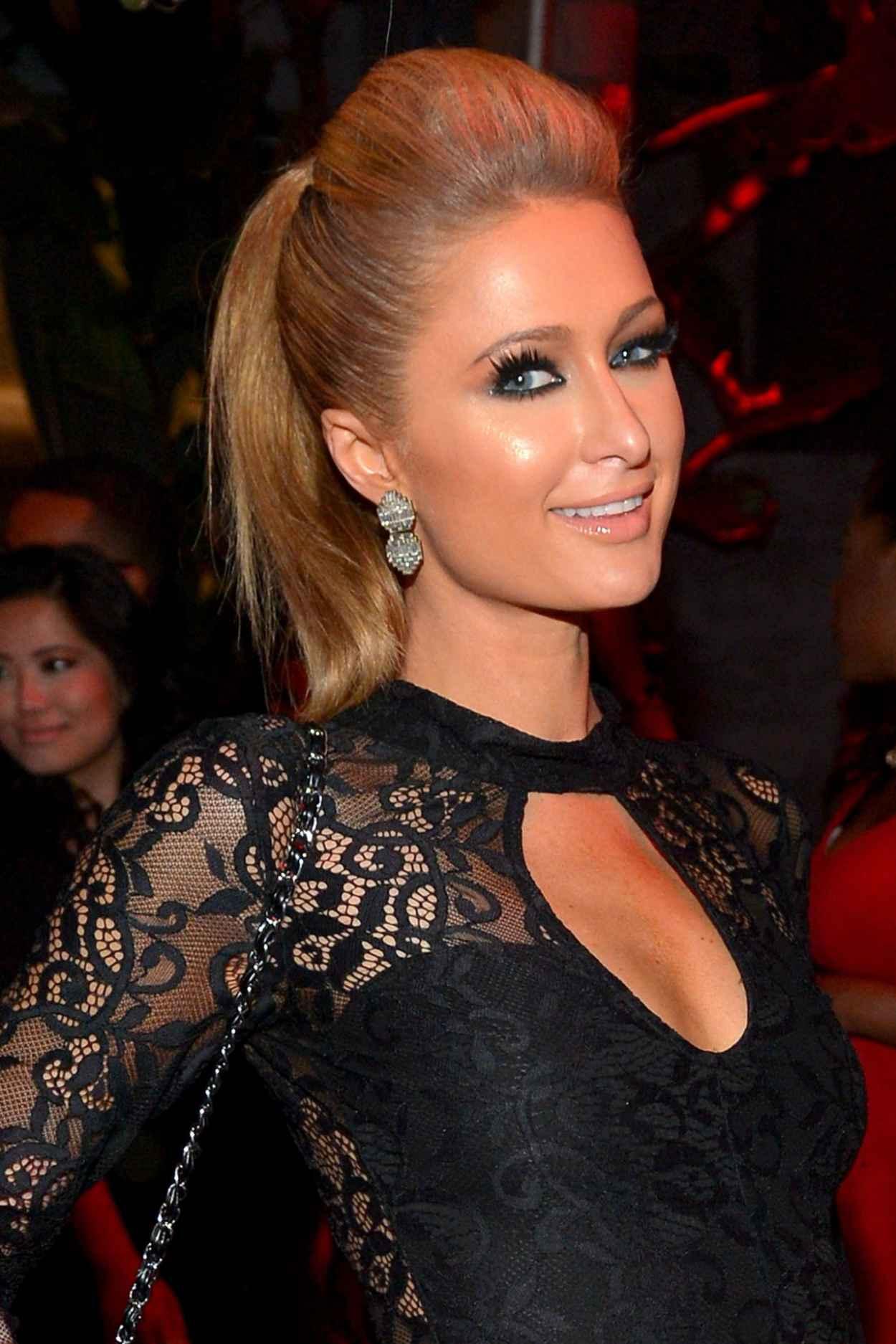 Paris Hilton - Midnight Grammy Brunch in Hollywood - January 2015-1