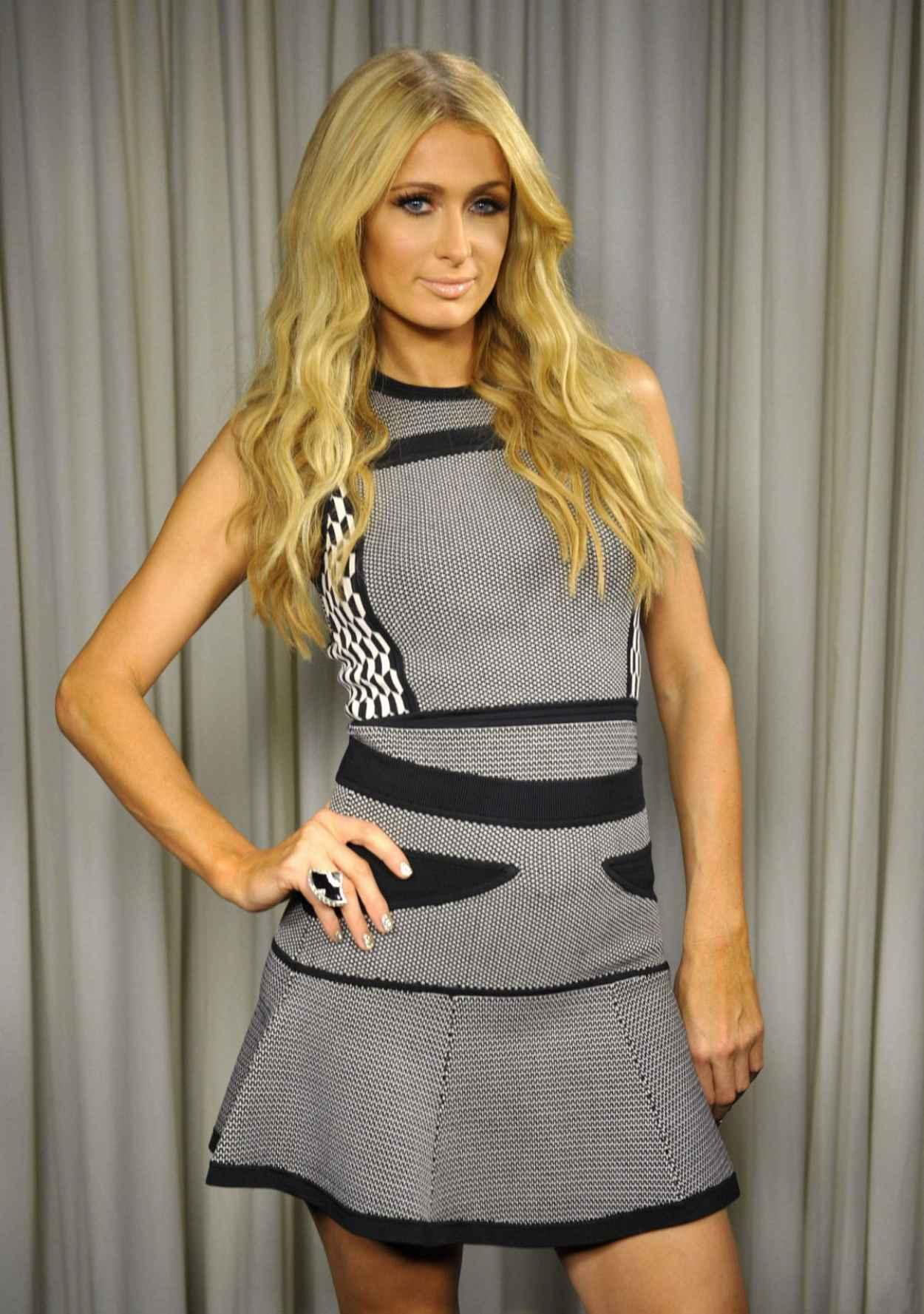 Paris Hilton Poses For a Portrait, Los Angeles October 2015-1
