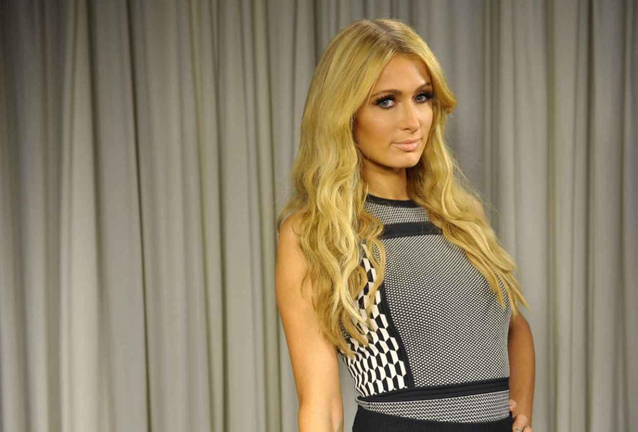 Paris Hilton Poses For a Portrait, Los Angeles October 2015-3