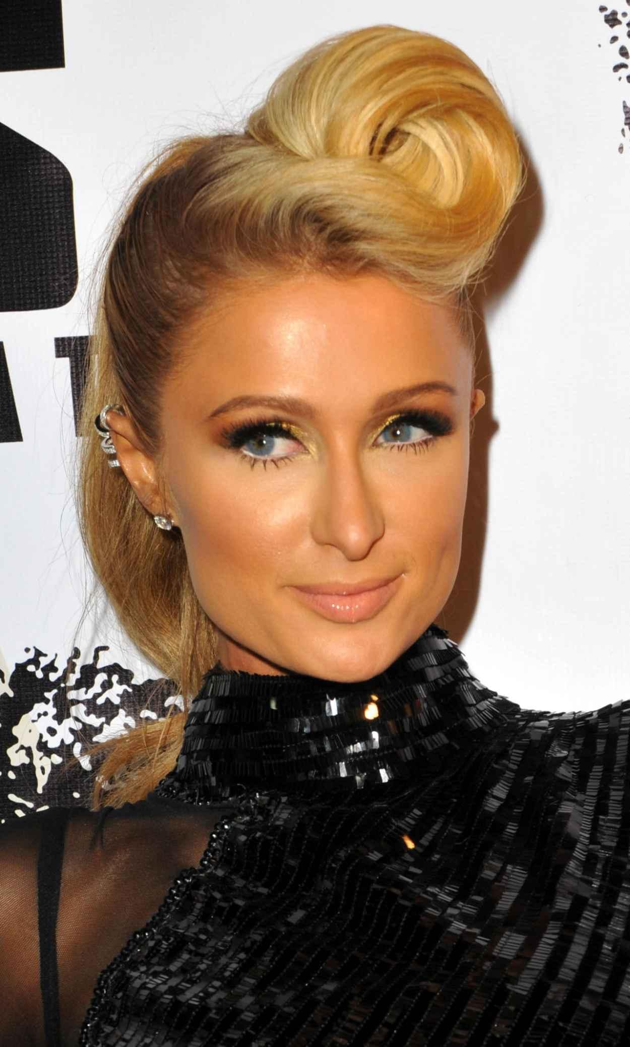 Paris Hilton Red Carpet Photos - Pre-Grammy Celebration at Boulevard3 - January 2015-1